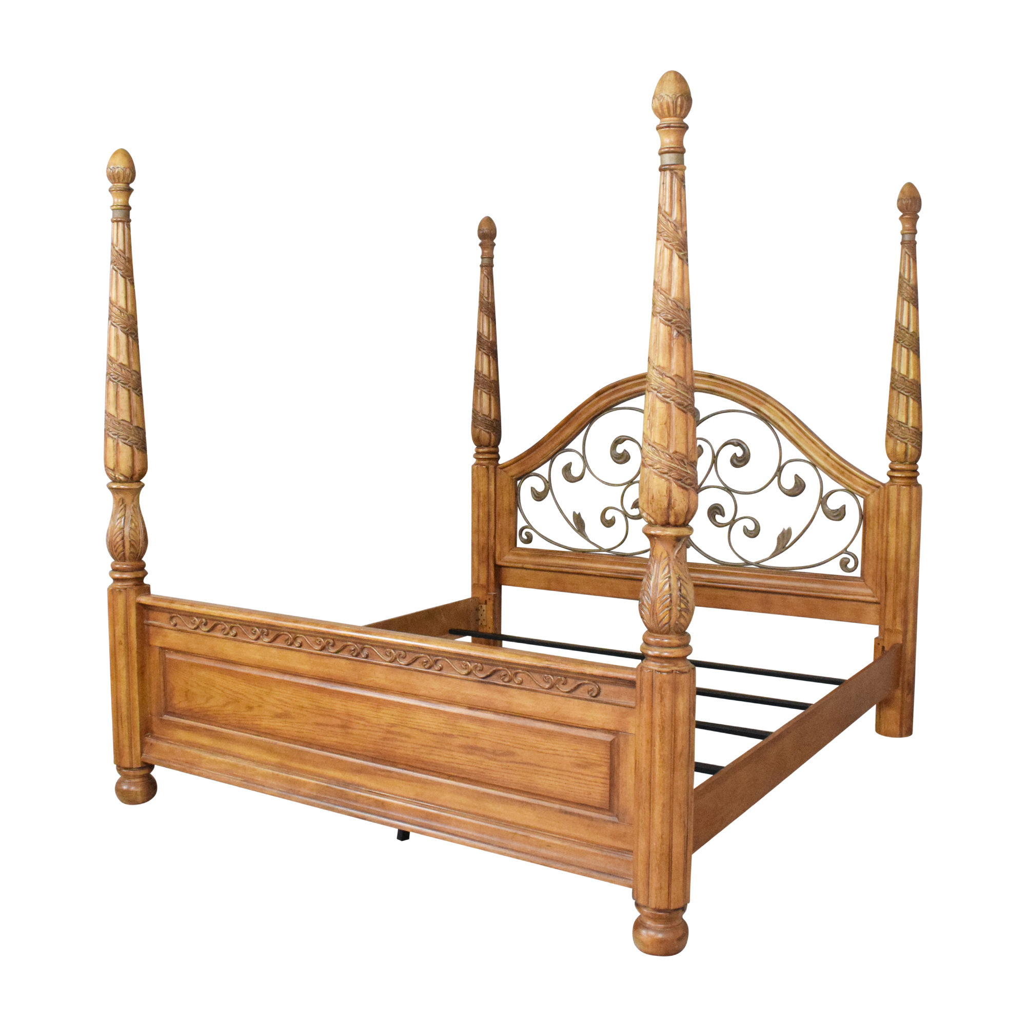 Four Poster King Bed sale