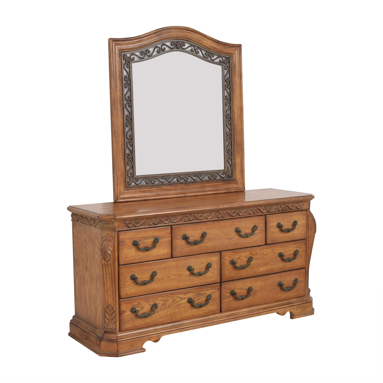 Ashley Furniture Ashley Furniture Decorative Dresser with Mirror used