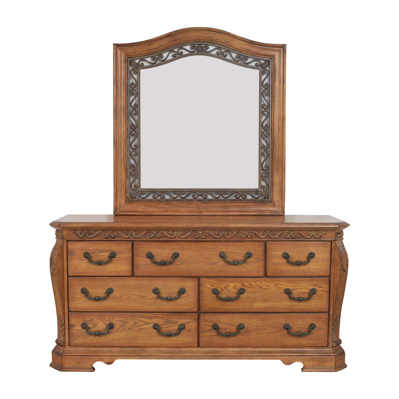 Ashley Furniture Ashley Furniture Decorative Dresser with Mirror