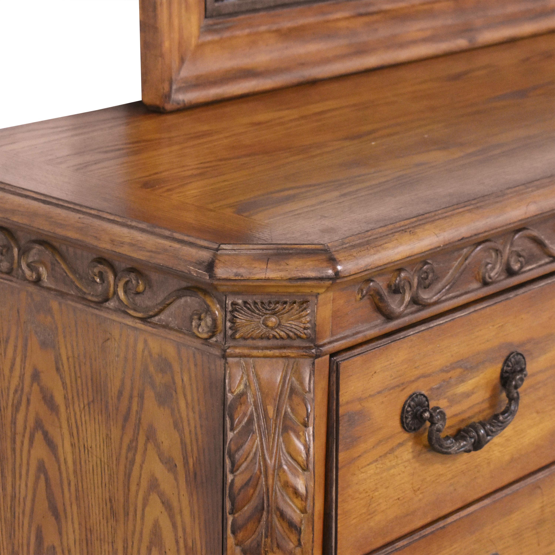 Ashley Furniture Decorative Dresser with Mirror / Storage