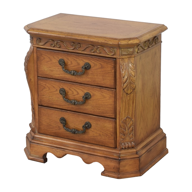 Ashley Furniture Ashley Furniture Three Drawer Nightstand brown