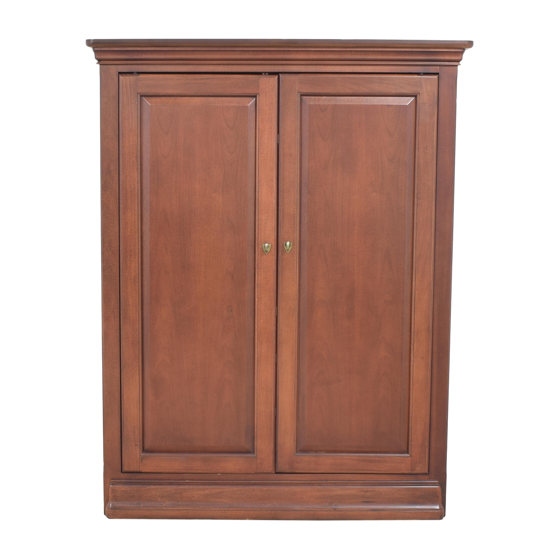 Thomasville Thomasville Two Door Media Cabinet pa