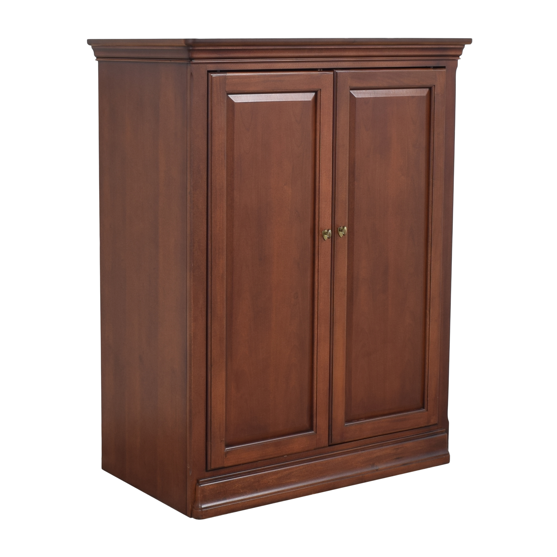 buy Thomasville Two Door Media Cabinet Thomasville Storage