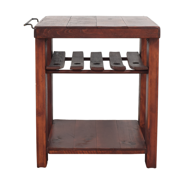 Rustic Wine Rack / Utility Tables