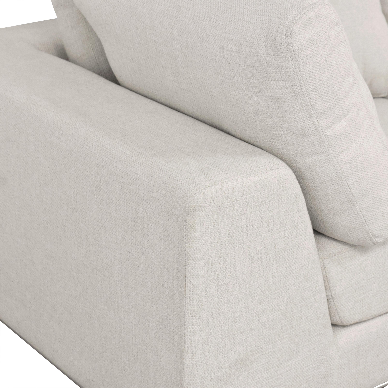 buy Modloft Sectional Sofa with Ottoman Modloft Sofas