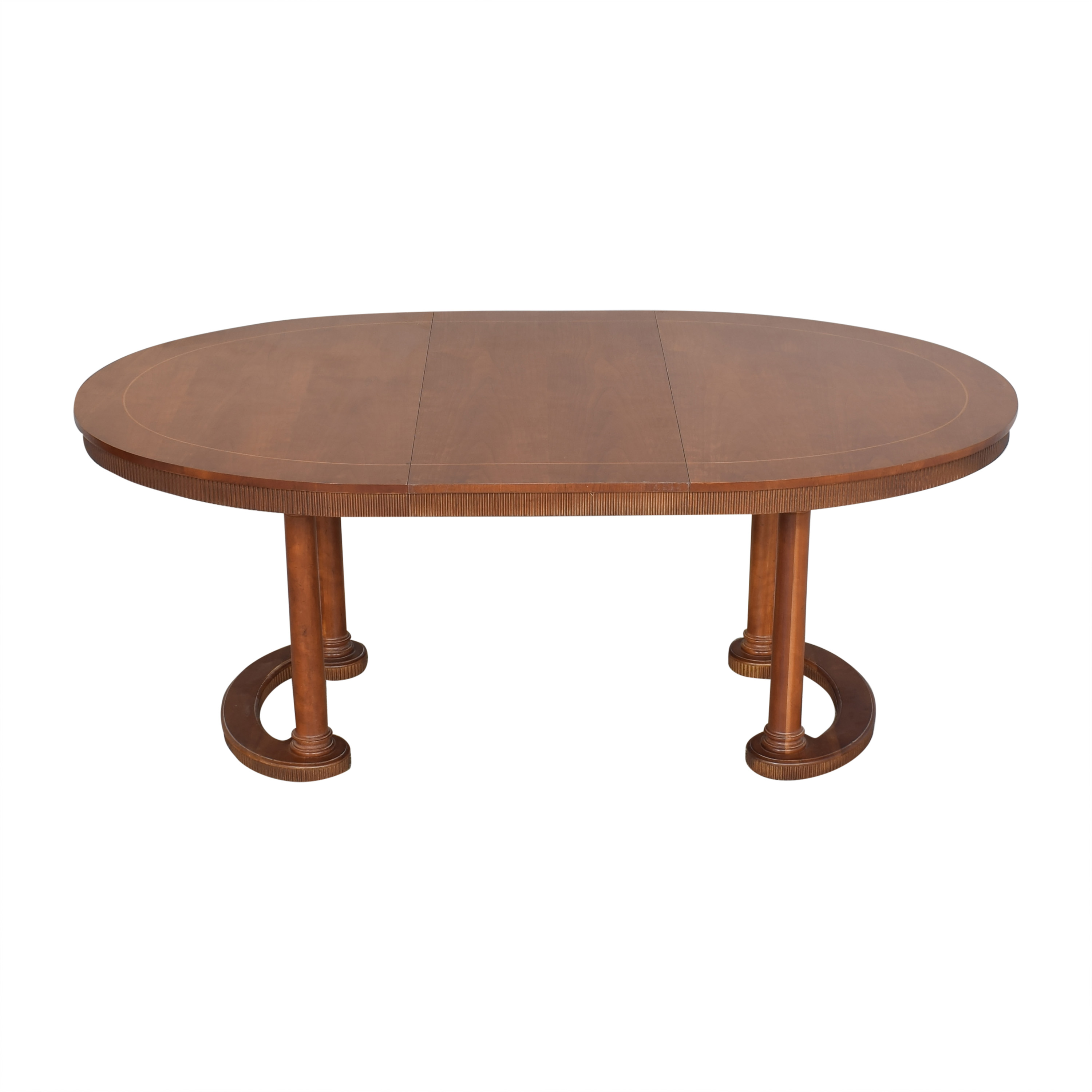 buy Baker Furniture Oval Extendable Dining Table Baker Furniture Dinner Tables