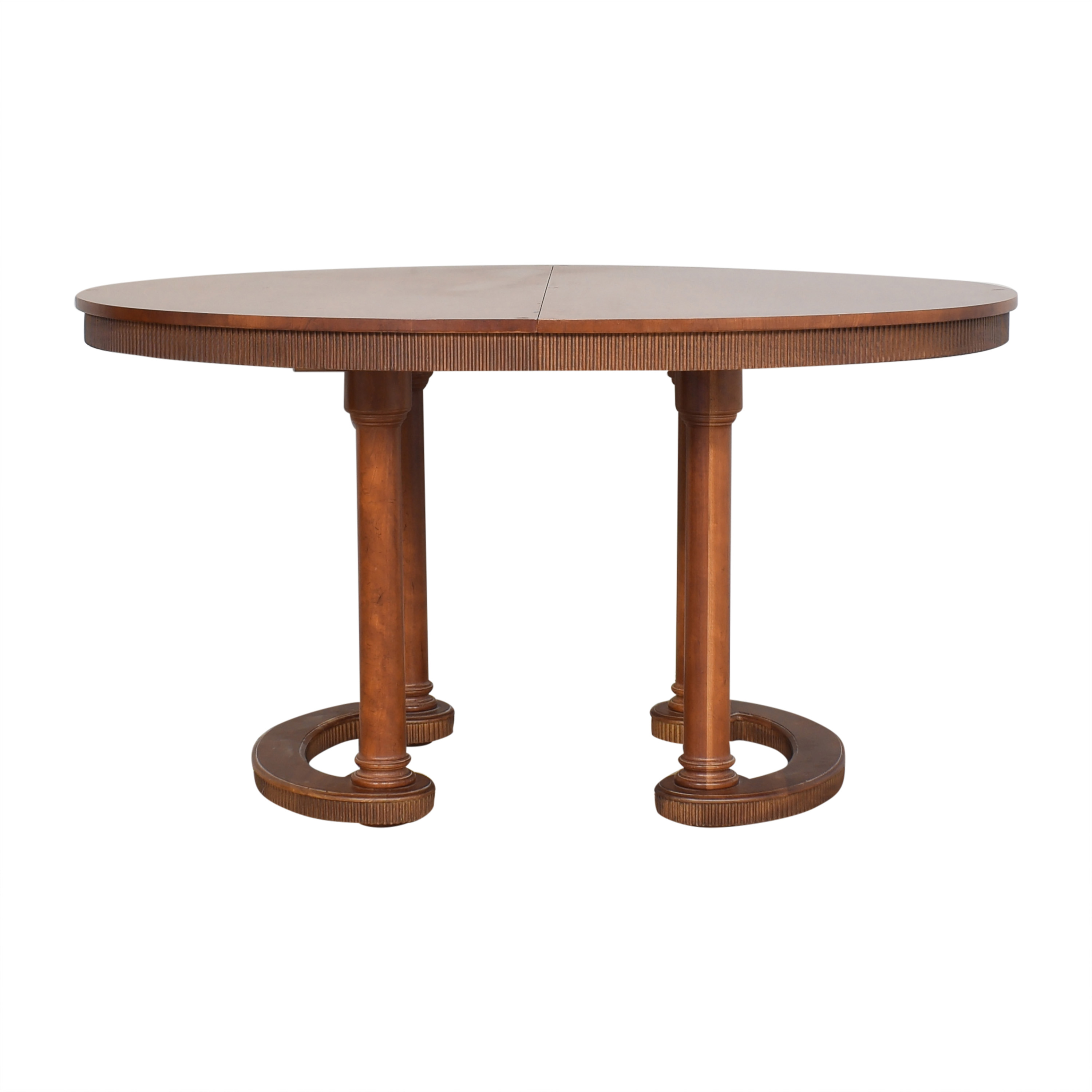 Baker Furniture Oval Extendable Dining Table sale