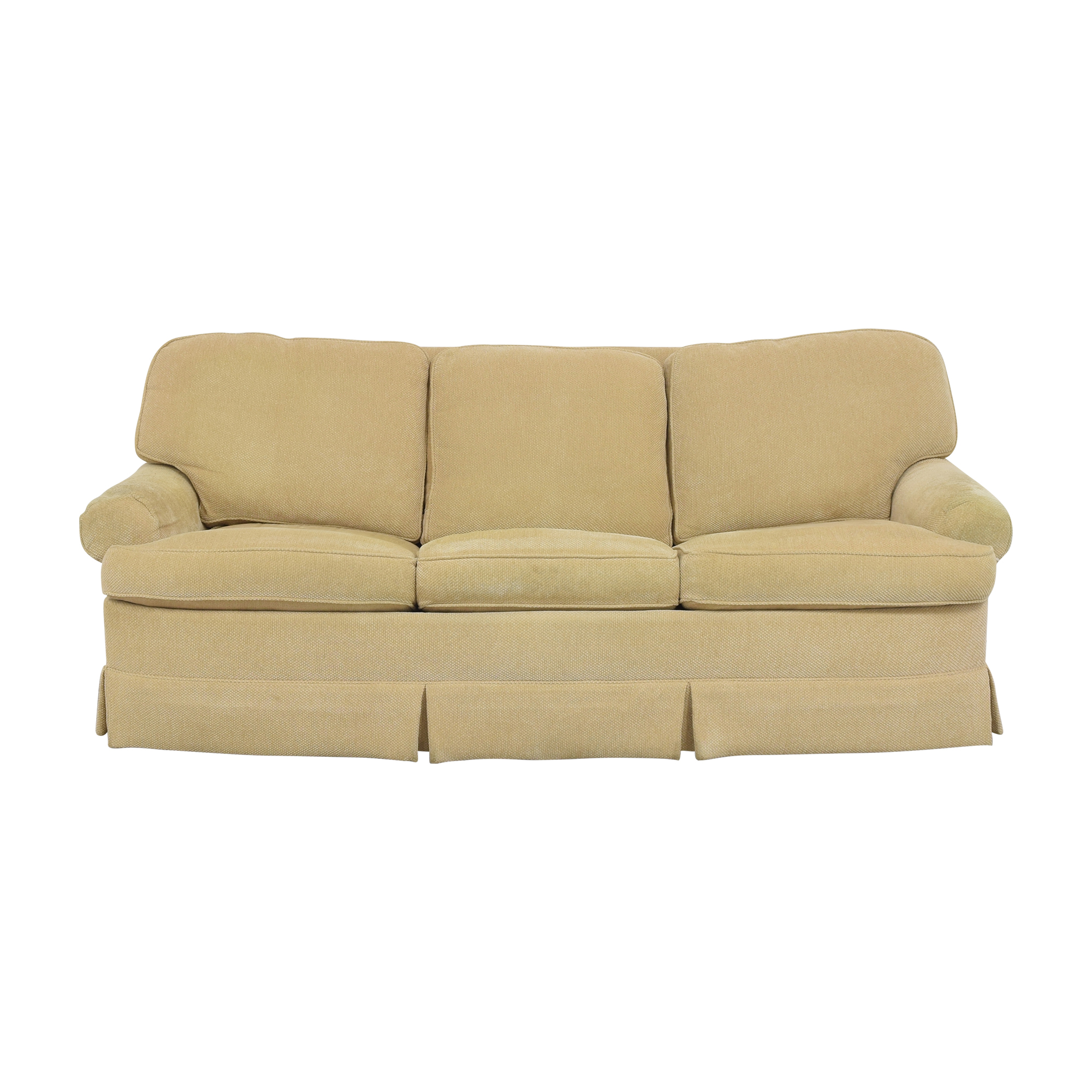 Ralph Lauren Home Ralph Lauren Roll Arm Sleeper Sofa YELLOW