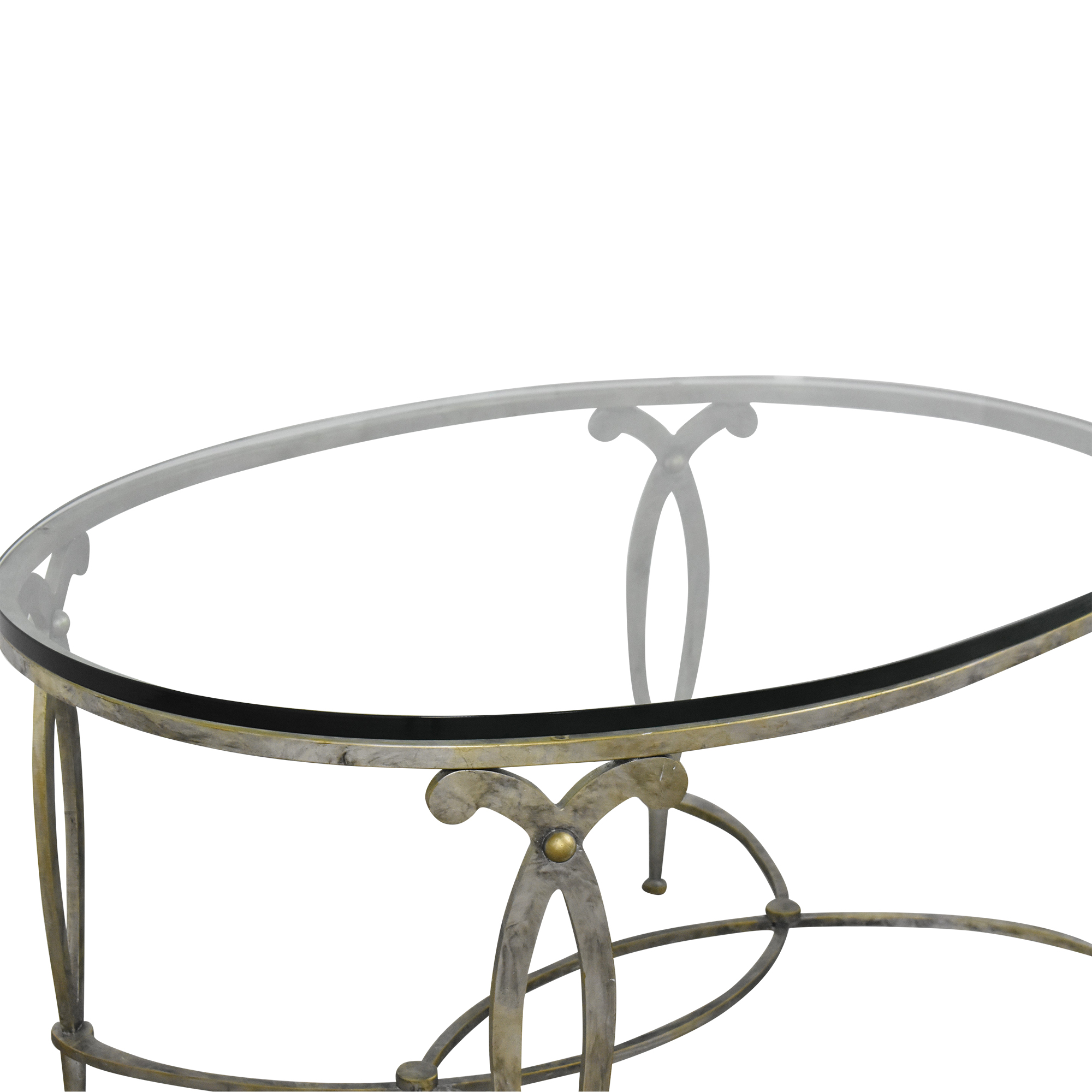 shop Oval Coffee Table