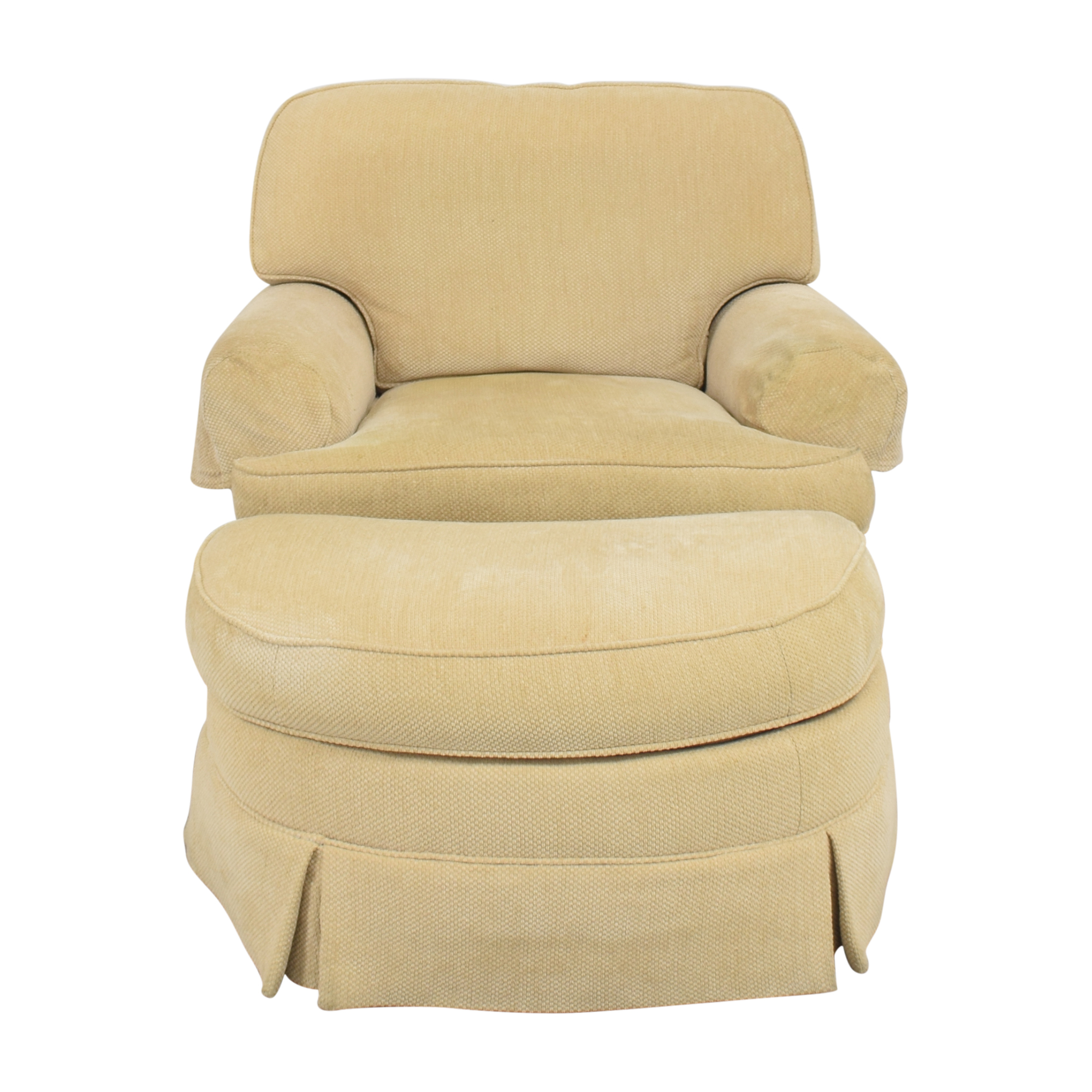 Ralph Lauren Home Ralph Lauren Home Chair with Ottoman yellow