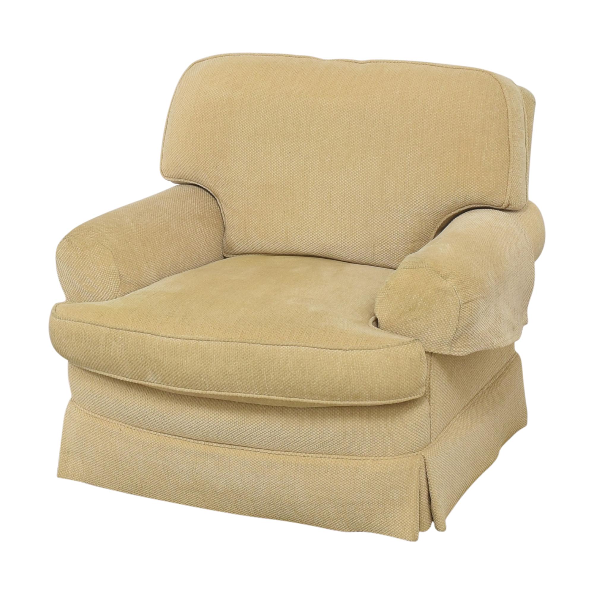 Ralph Lauren Home Ralph Lauren Home Chair with Ottoman used