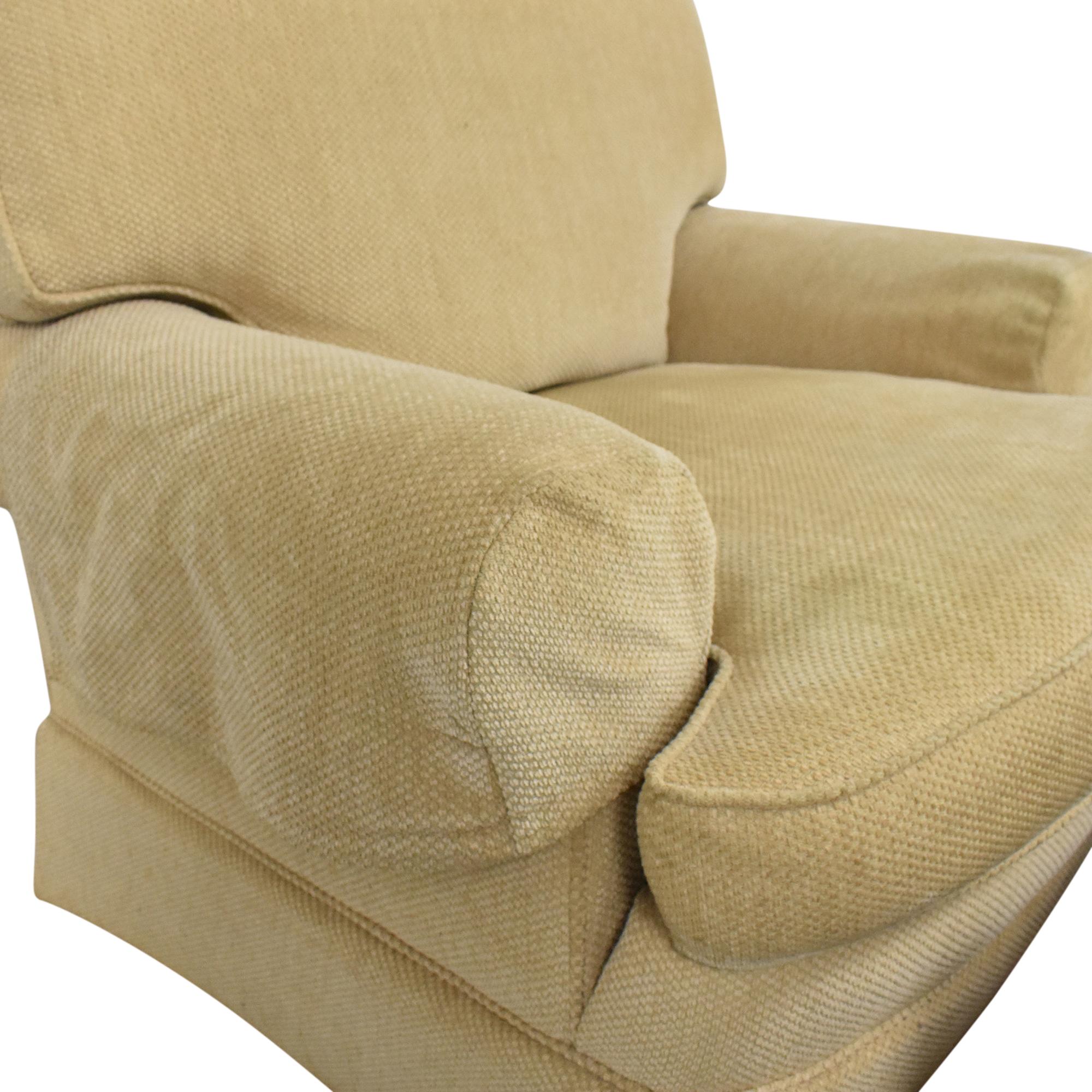 Ralph Lauren Home Ralph Lauren Home Chair with Ottoman ct
