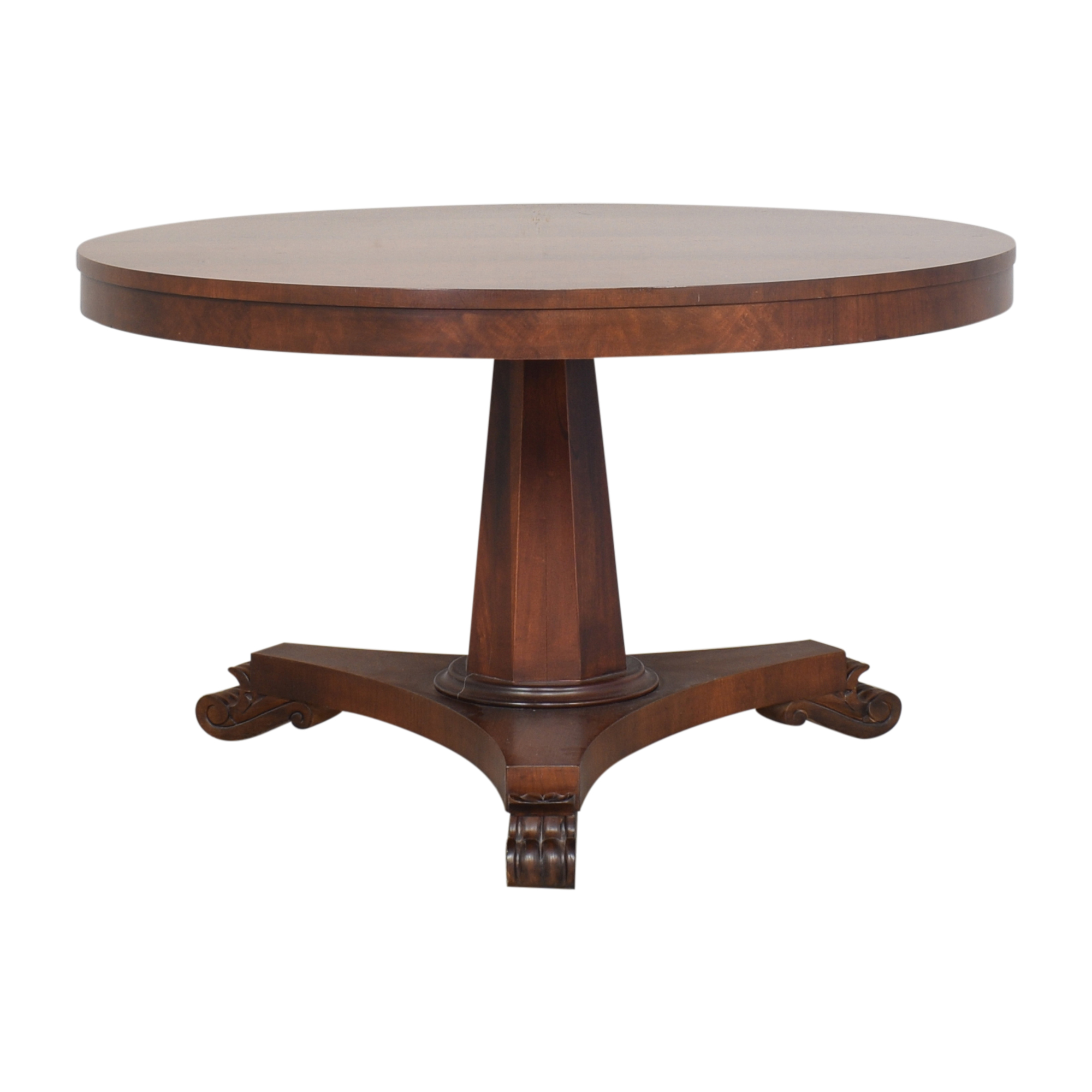 Ralph Lauren Home Ralph Lauren Home Round Clawfoot Dining Table Dinner Tables