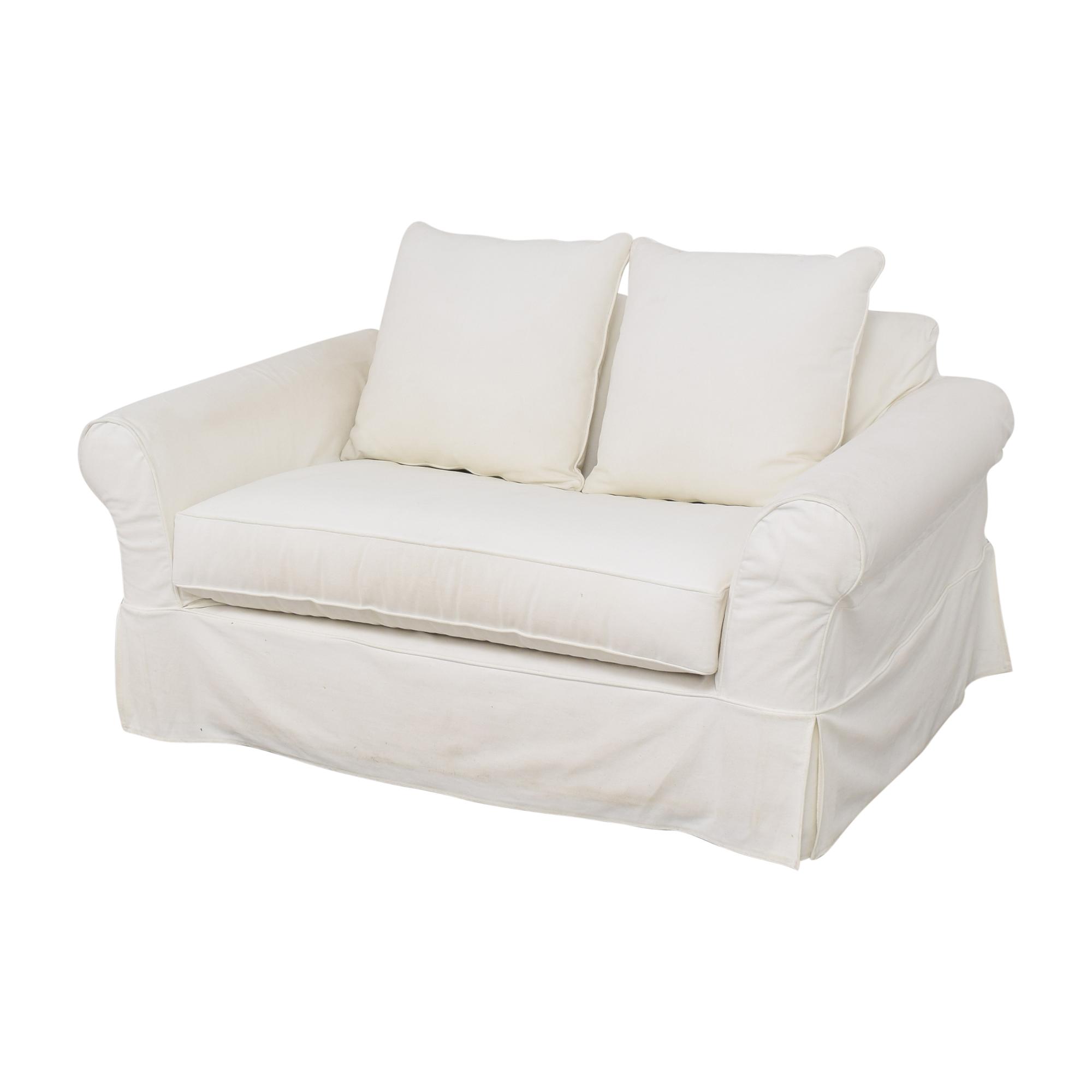 Pottery Barn Pottery Barn Comfort Roll Arm Twin Sleeper Chair price