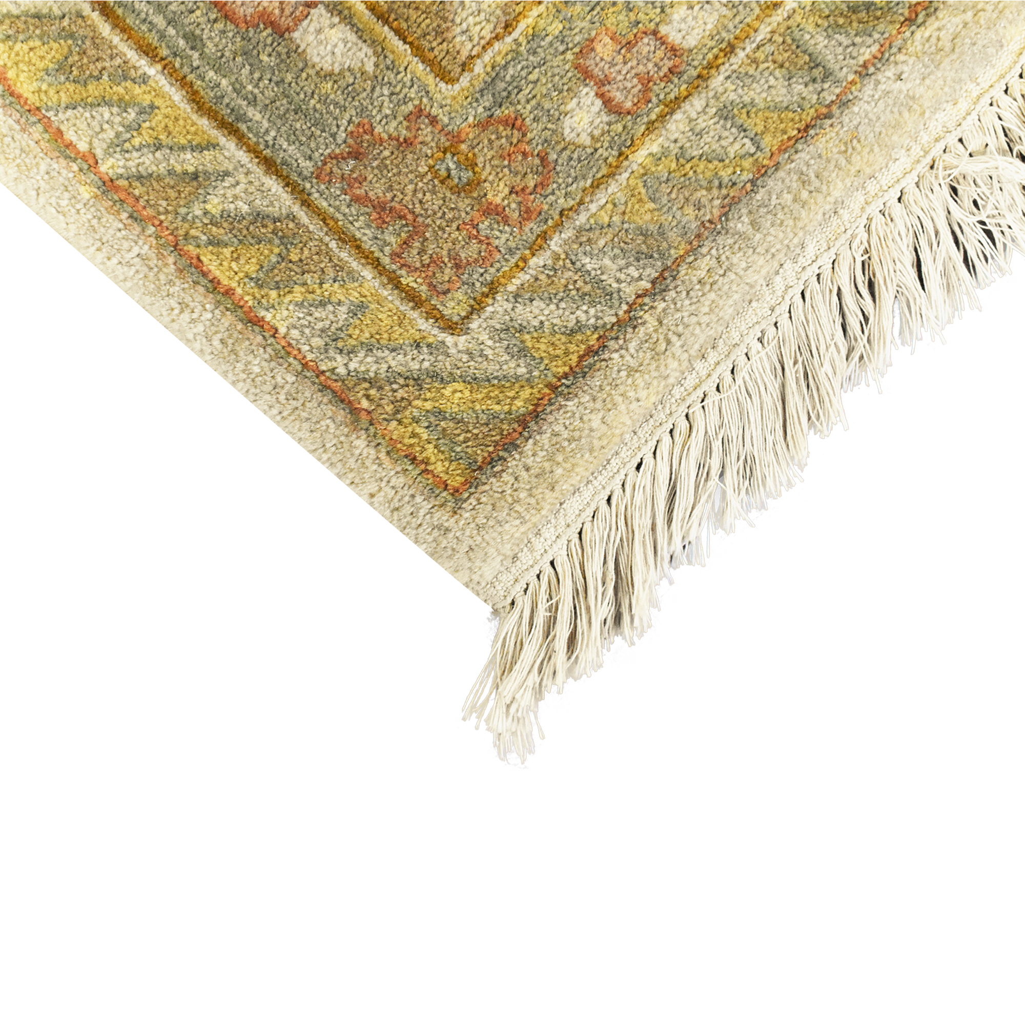 Traditional Patterned Area Rug nyc