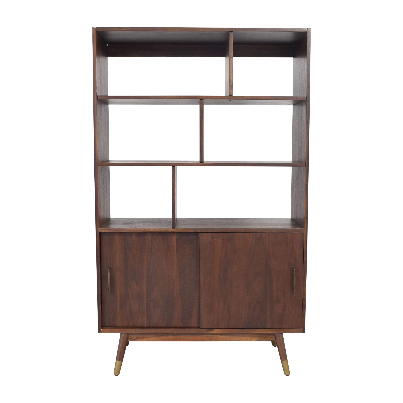 World Market World Market Randi Mid Century Bookcase brown