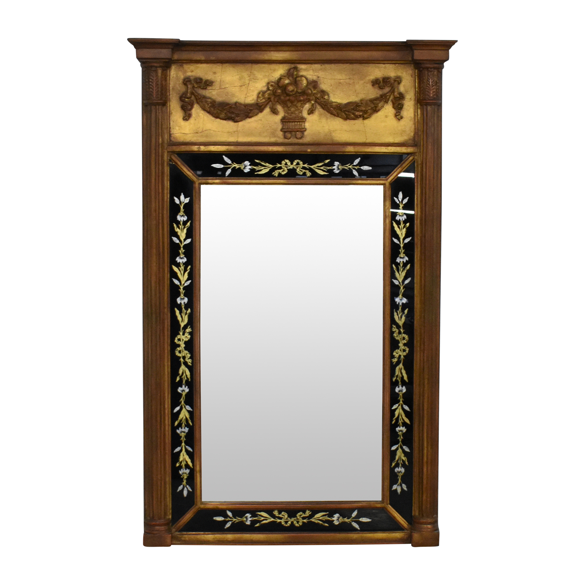 Decorative Trumeau Mirror dimensions