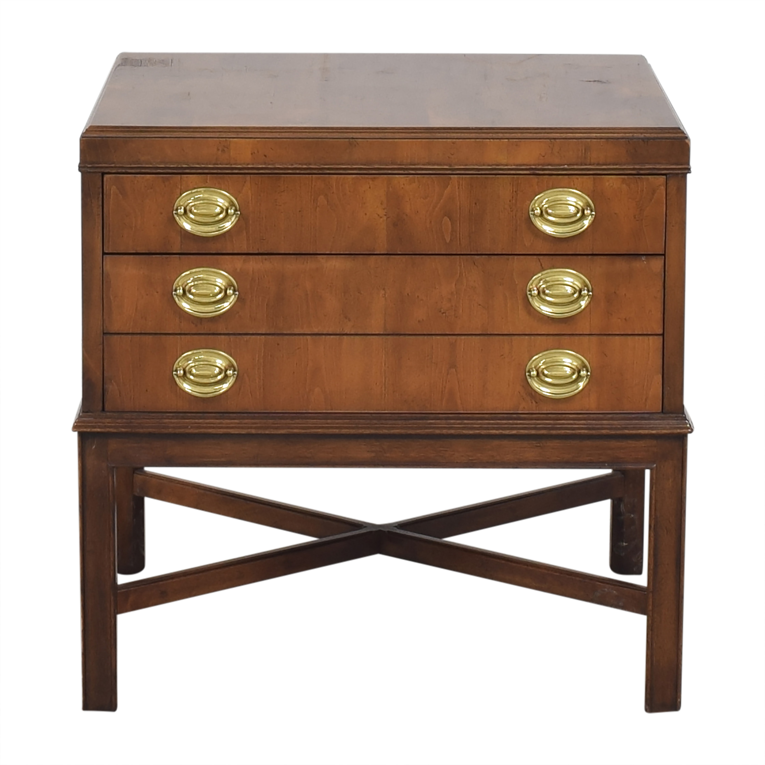 Drexel Heritage Drexel Heritage Two Drawer End Table nyc