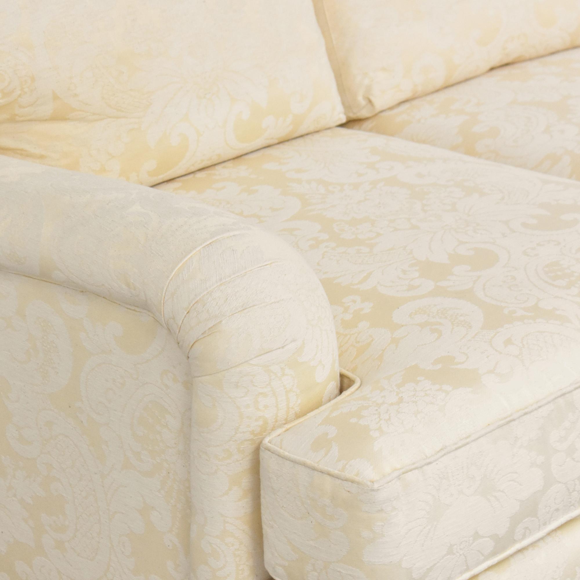 shop Henredon Damask Sofa Henredon Furniture