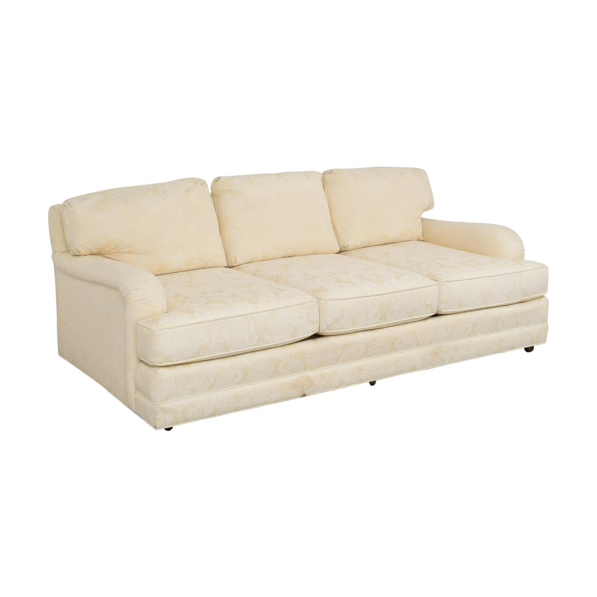 Henredon Furniture Henredon Damask Sofa discount