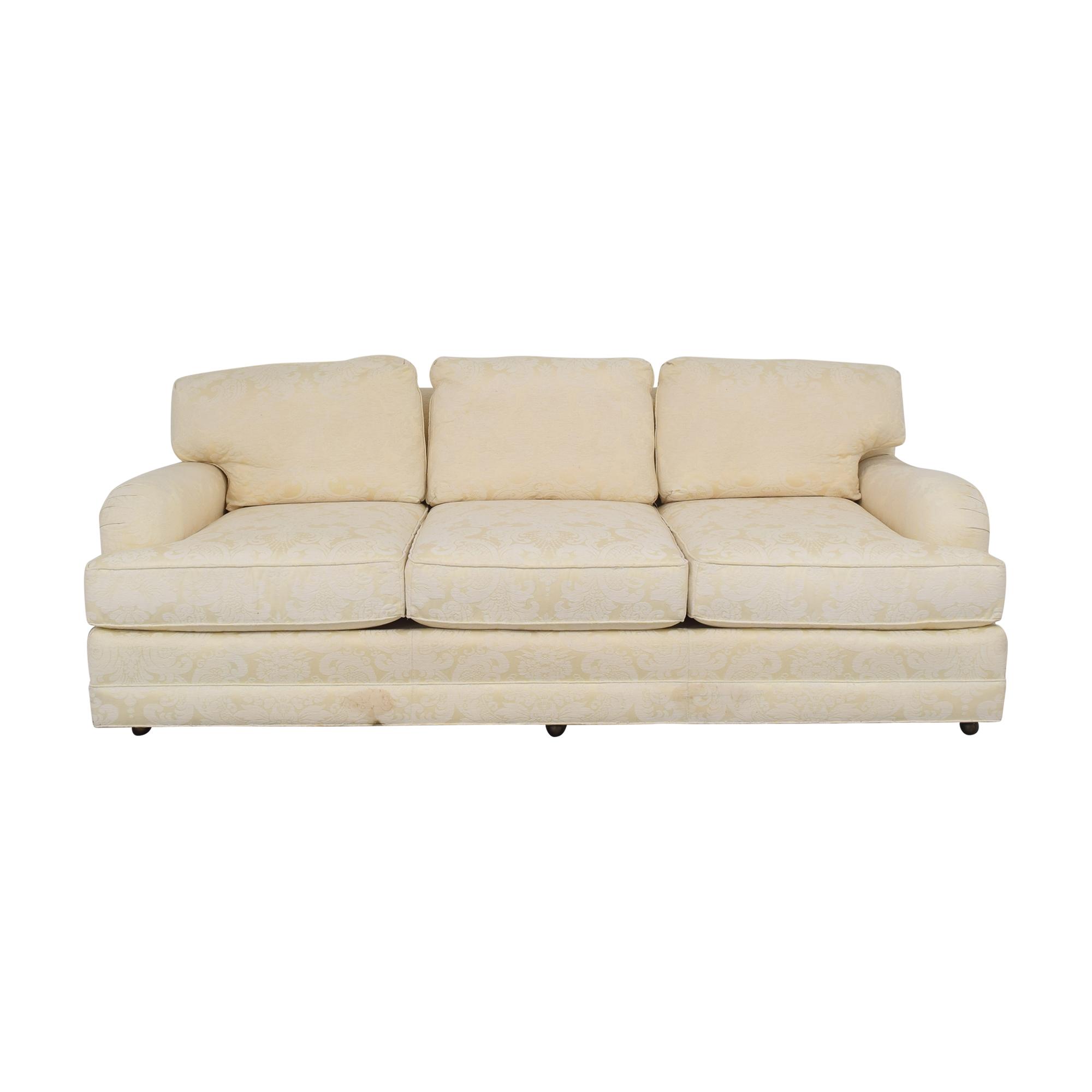 Henredon Furniture Henredon Damask Sofa used