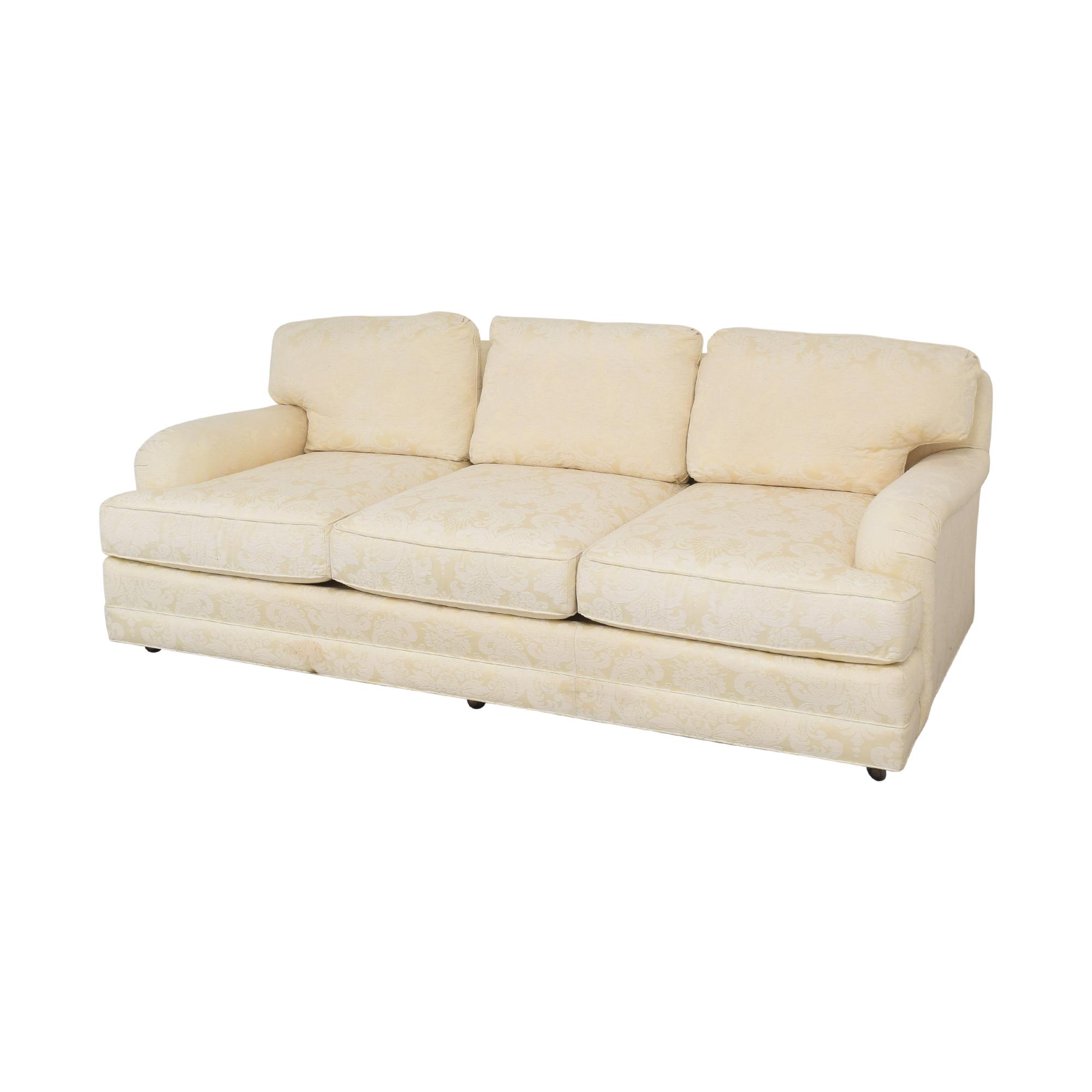 buy Henredon Furniture Henredon Damask Sofa online