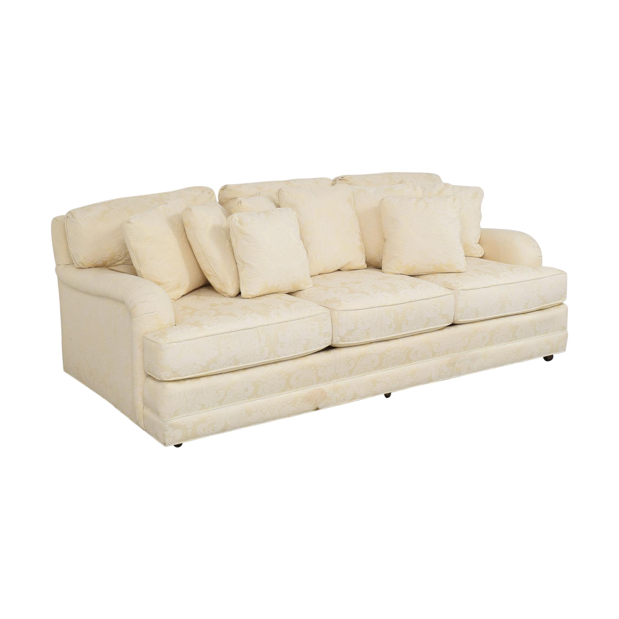 Henredon Furniture Henredon Damask Sofa ct