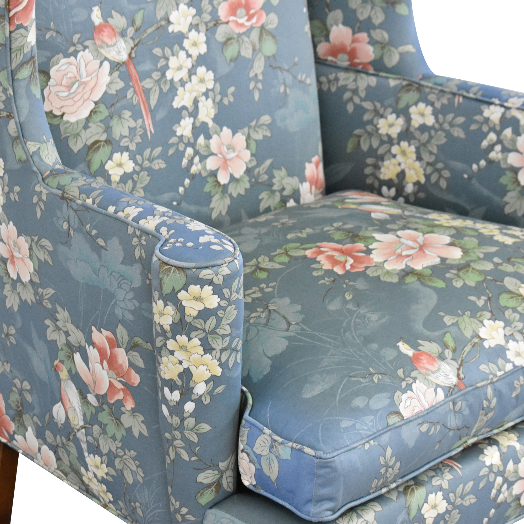 shop Southwood Wing Back Accent Chair Southwood