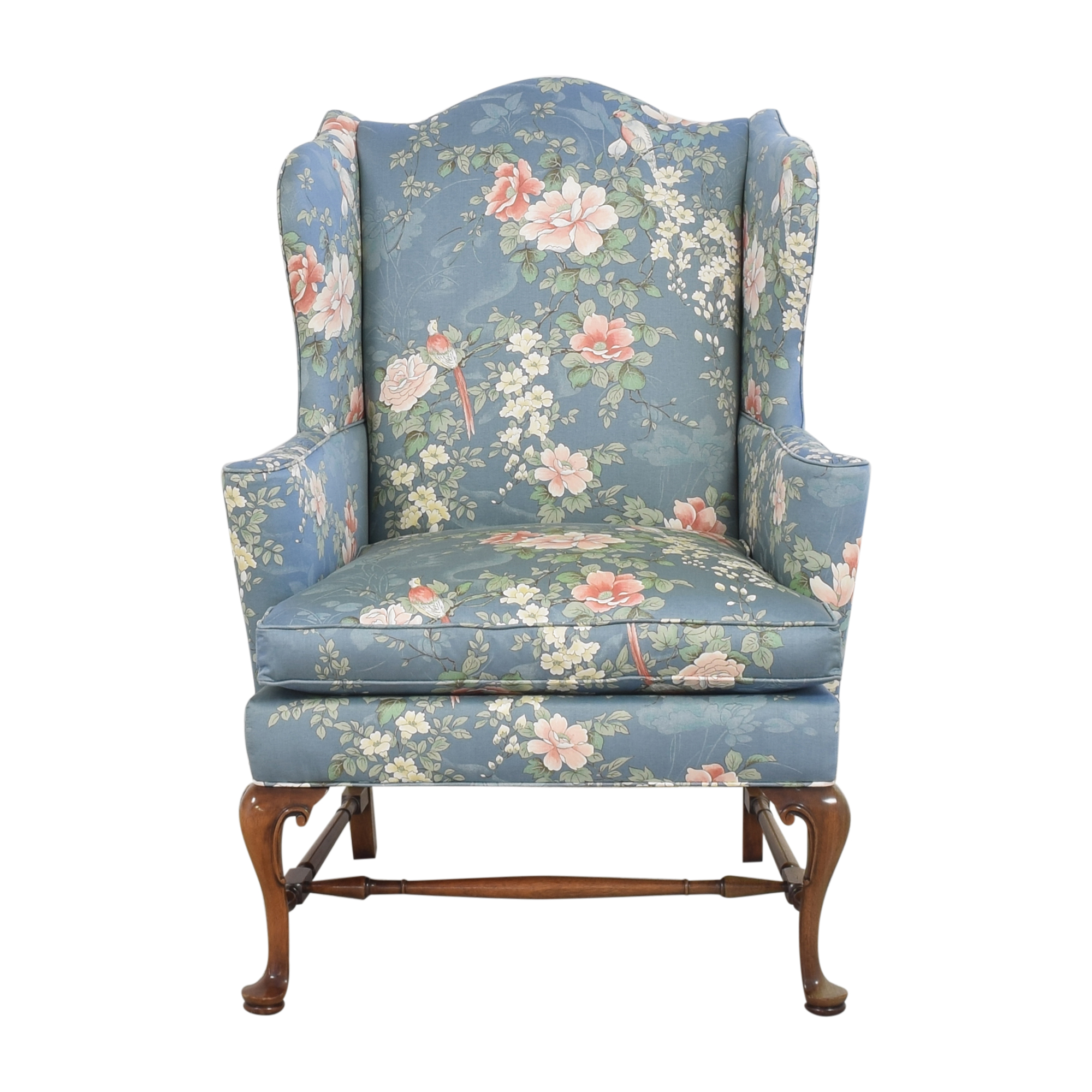 shop Southwood Wing Back Accent Chair Southwood Accent Chairs