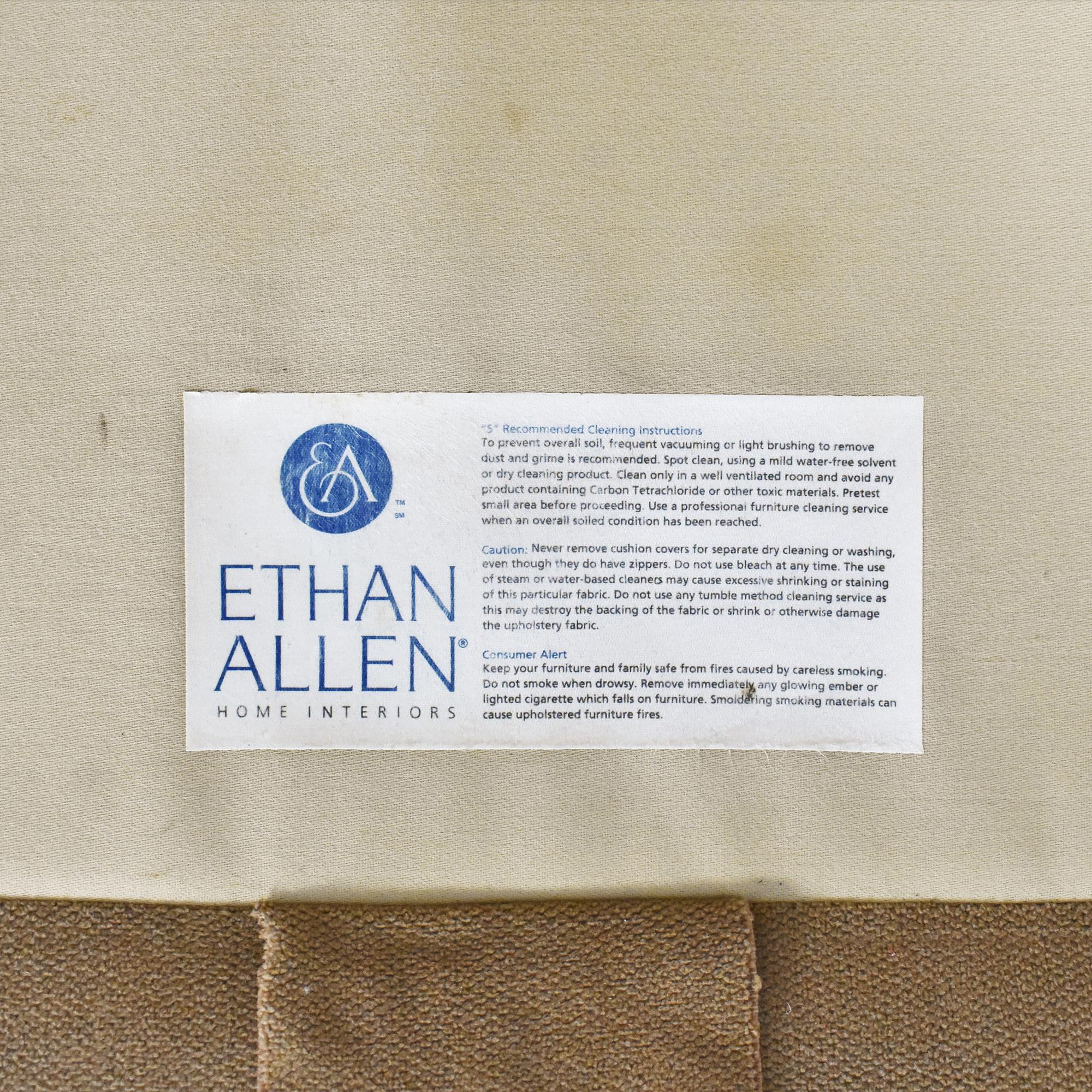 Ethan Allen Ethan Allen Skirted Roll Arm Sofa used
