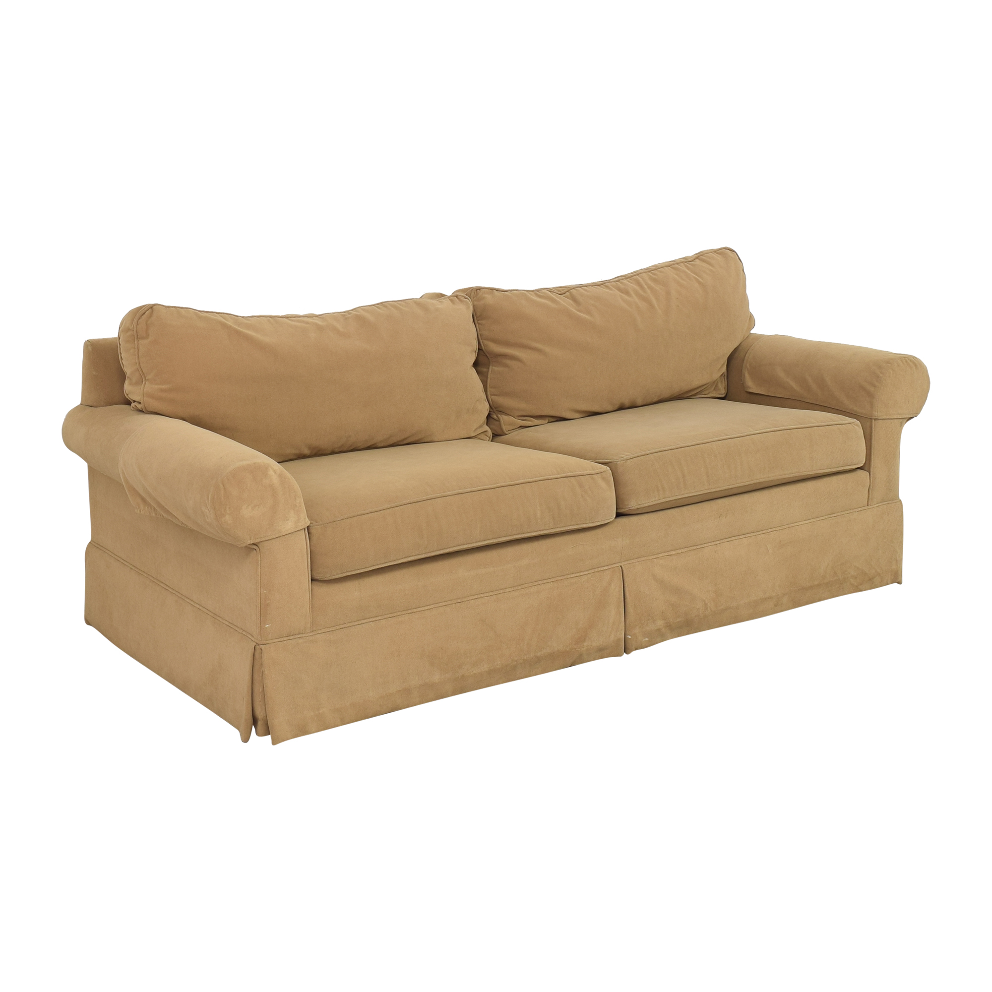 buy Ethan Allen Ethan Allen Skirted Roll Arm Sofa online