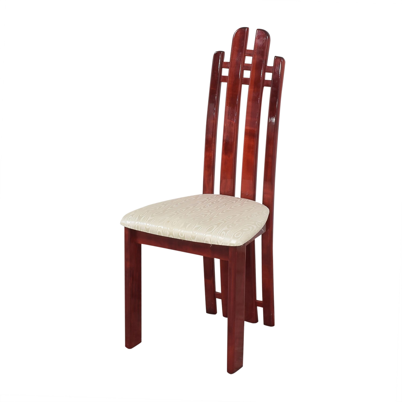 Geomani Modern Geomani High Back Dining Side Chairs on sale