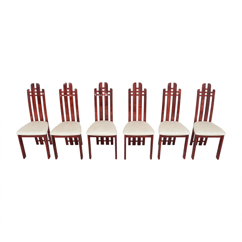 Geomani Modern Geomani High Back Dining Side Chairs discount