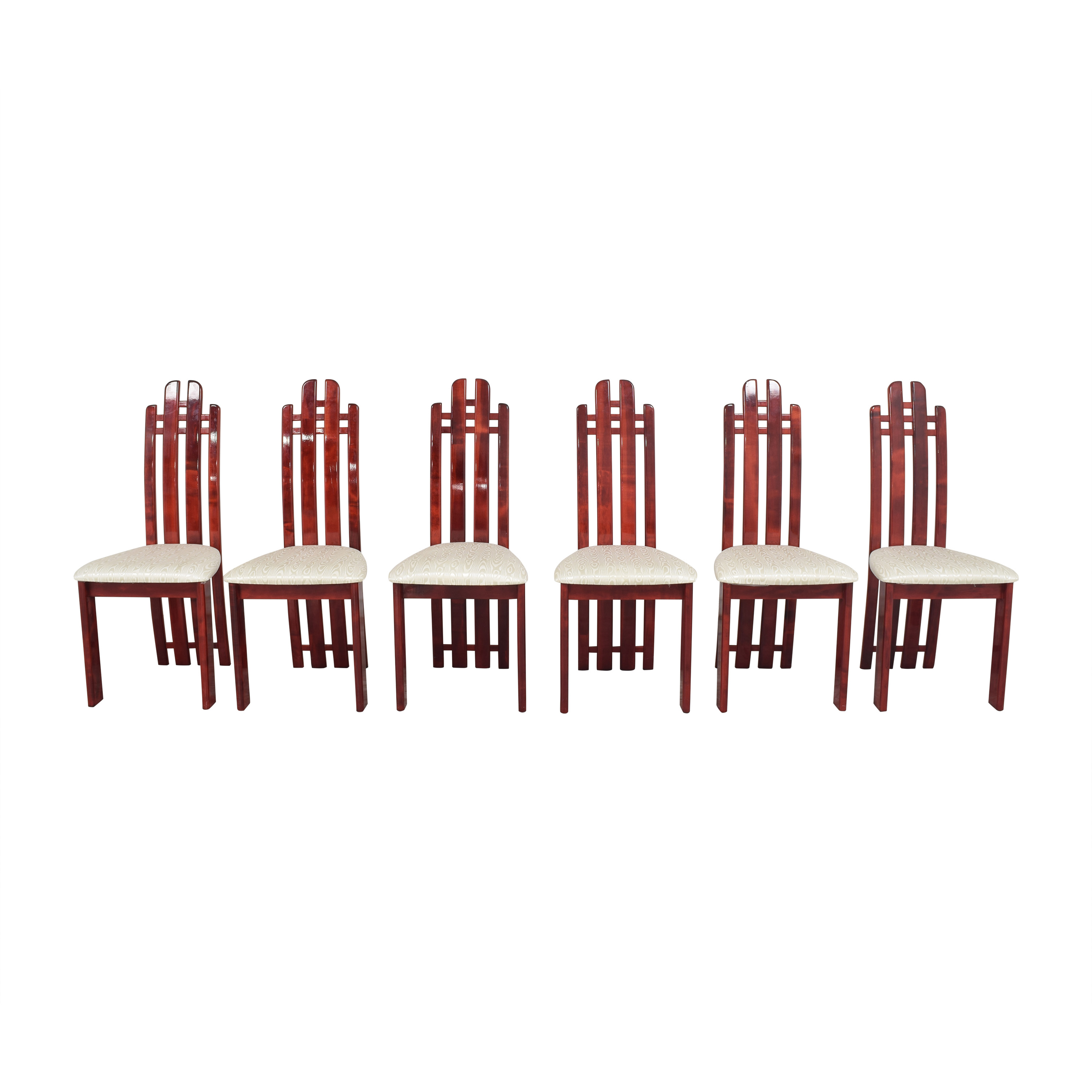 buy Geomani High Back Dining Side Chairs Geomani Modern Dining Chairs