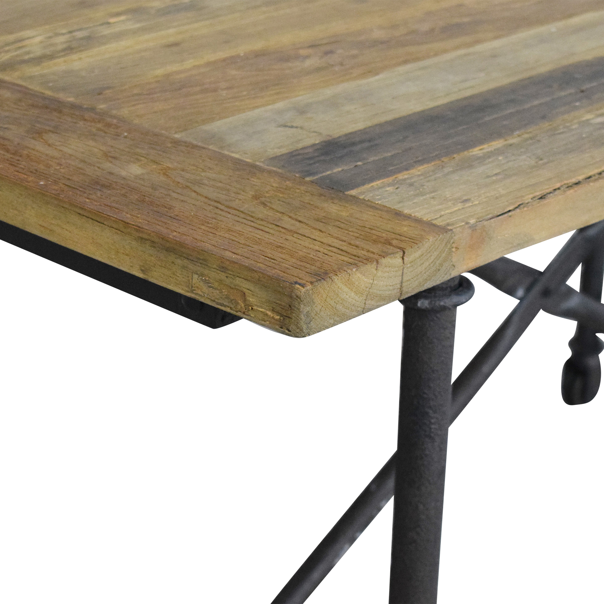 Restoration Hardware Restoration Hardware Flatiron Rectangular Dining Table used