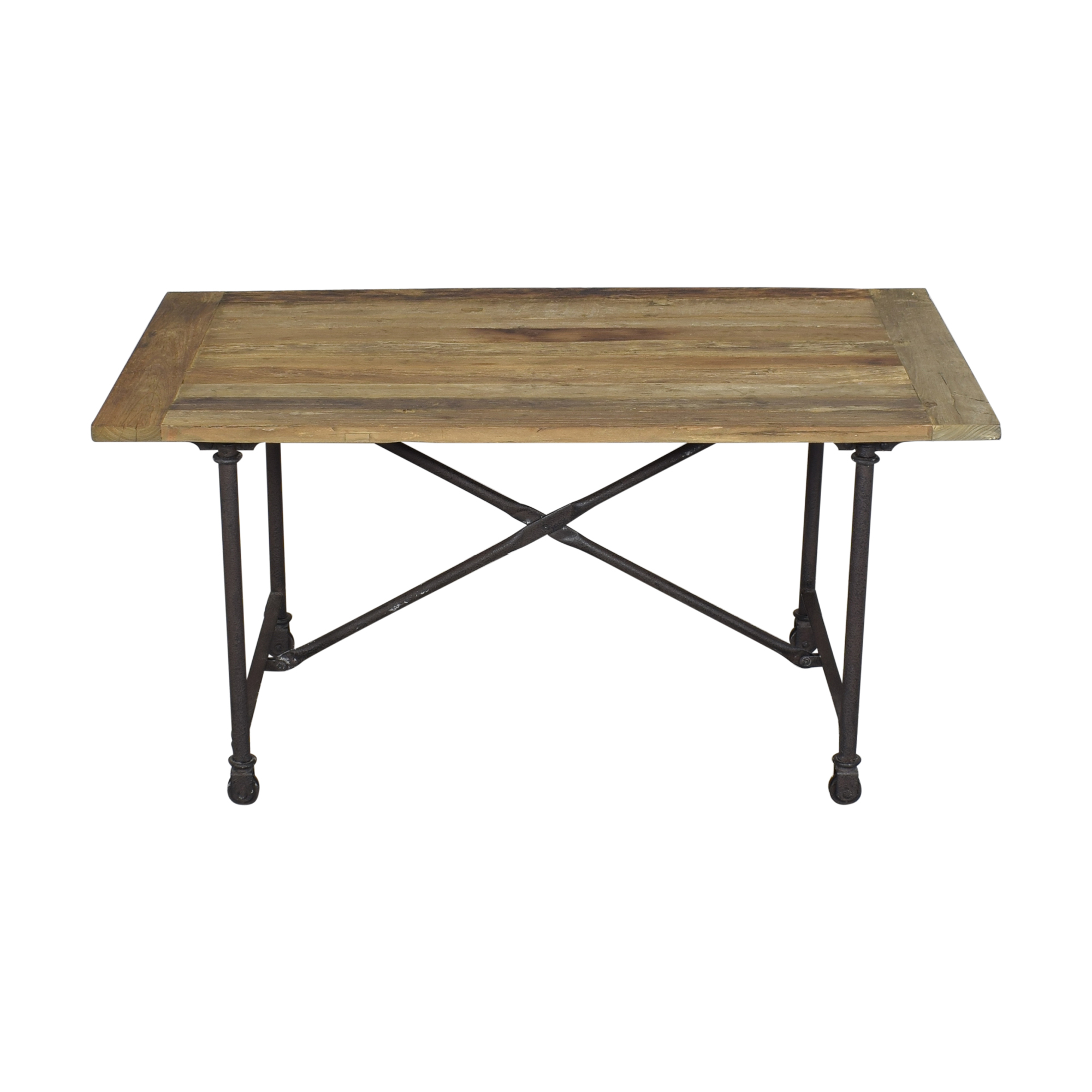 Restoration Hardware Restoration Hardware Flatiron Rectangular Dining Table