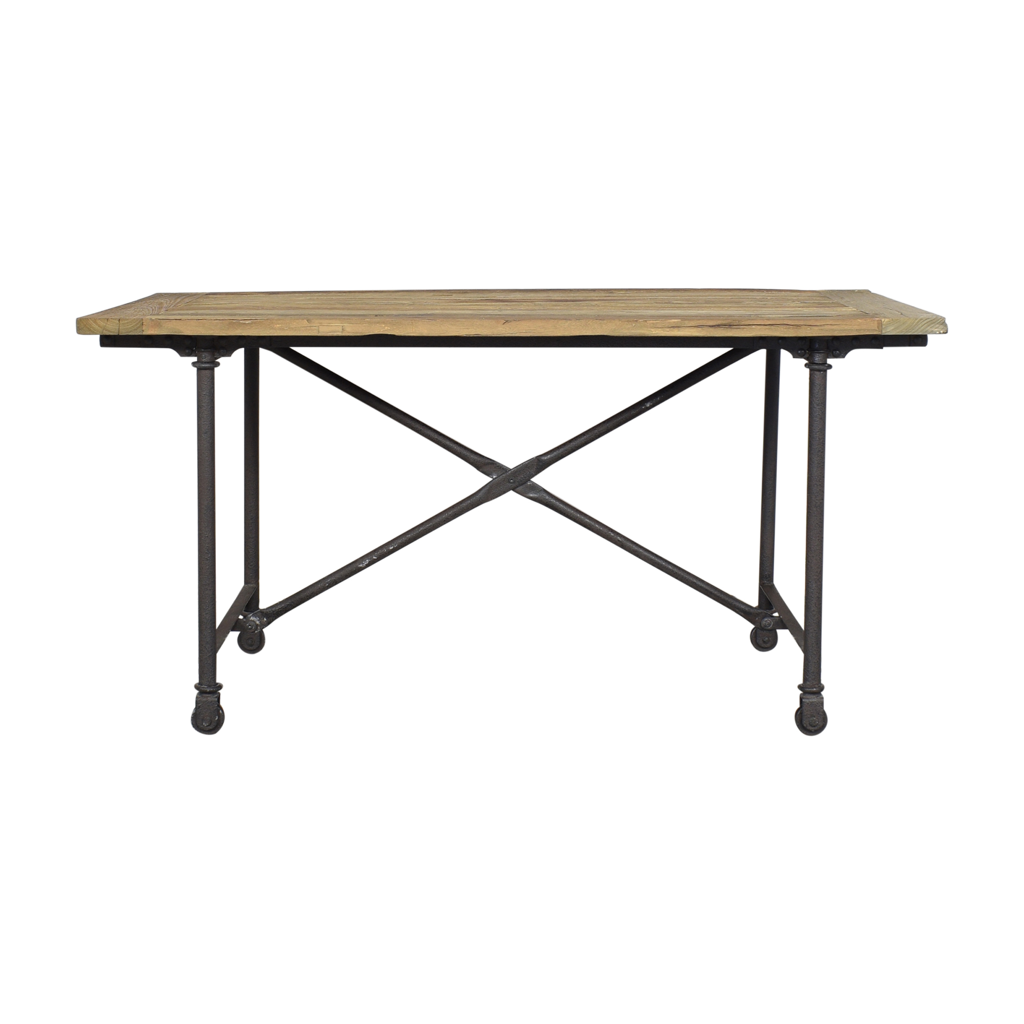 Restoration Hardware Restoration Hardware Flatiron Rectangular Dining Table ct