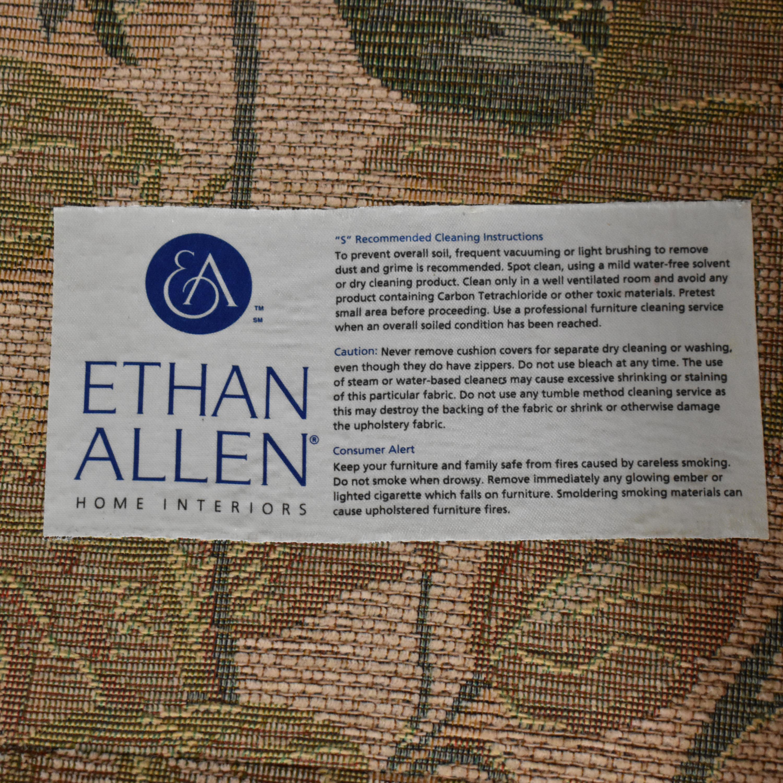 buy Ethan Allen Ethan Allen Floral Skirted Sofa online