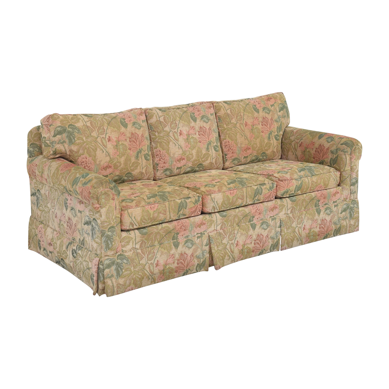 buy Ethan Allen Floral Skirted Sofa Ethan Allen Sofas