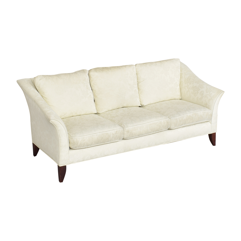 Maurice Villency Maurice Villency Three Cushion Sofa ct