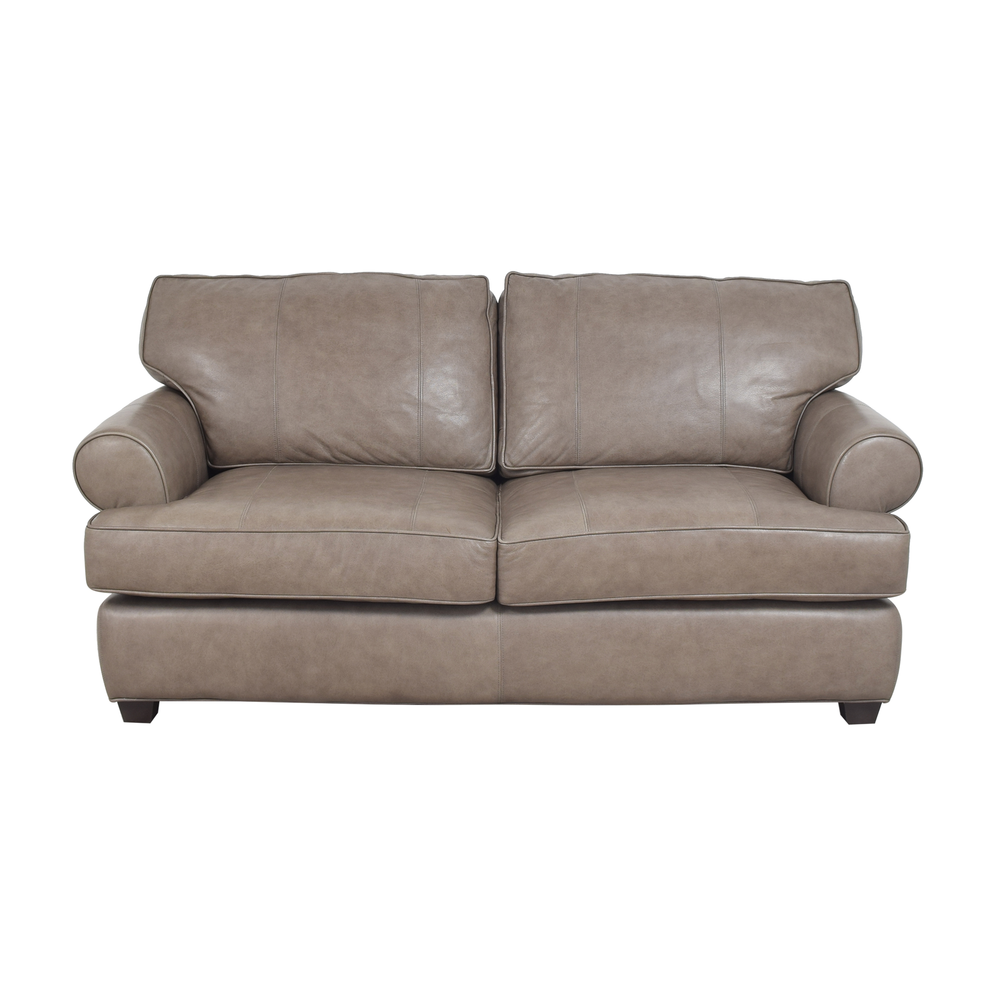 Arhaus Arhaus Hadley Roll Arm Loveseat grey