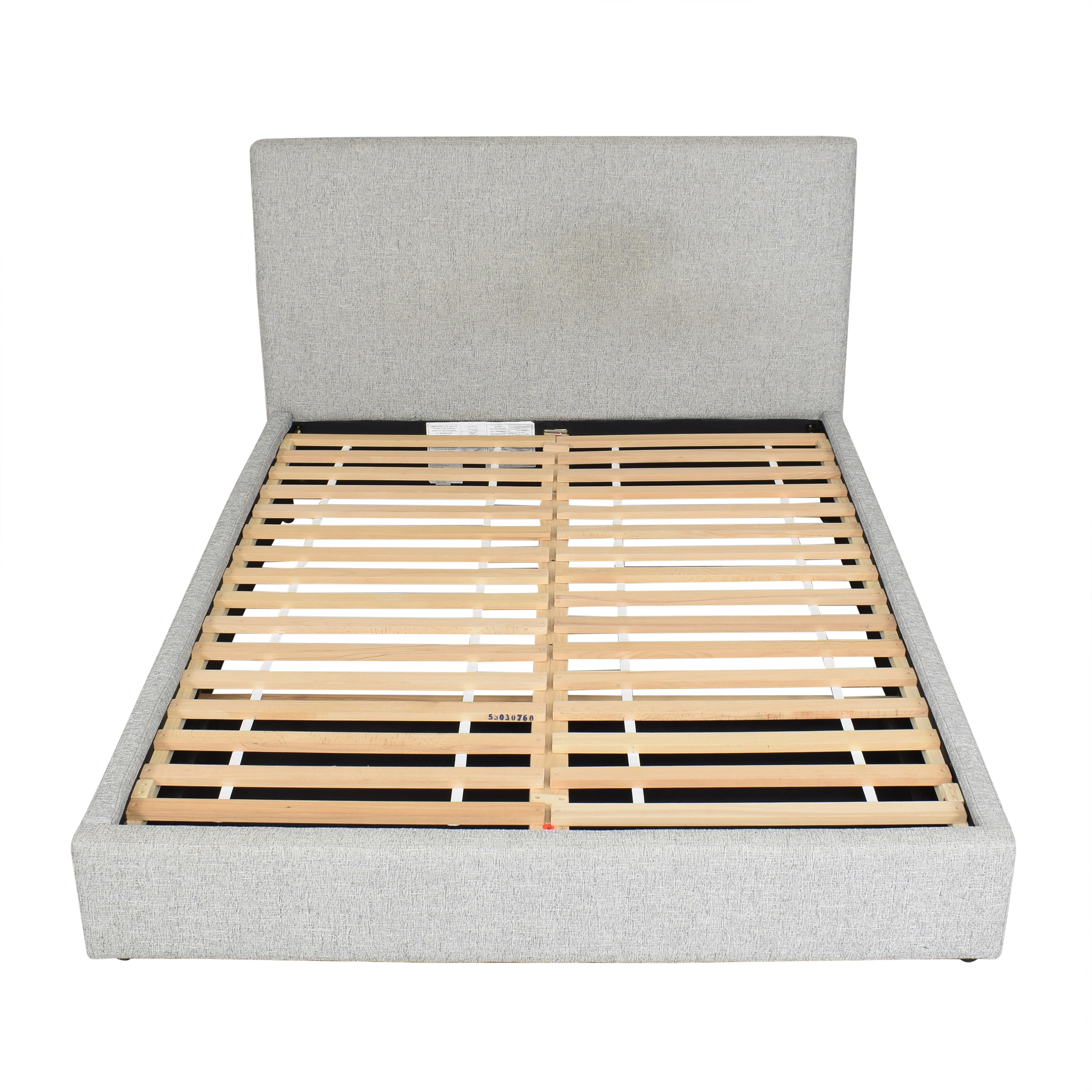 West Elm Contemporary Tall Queen Storage Bed sale