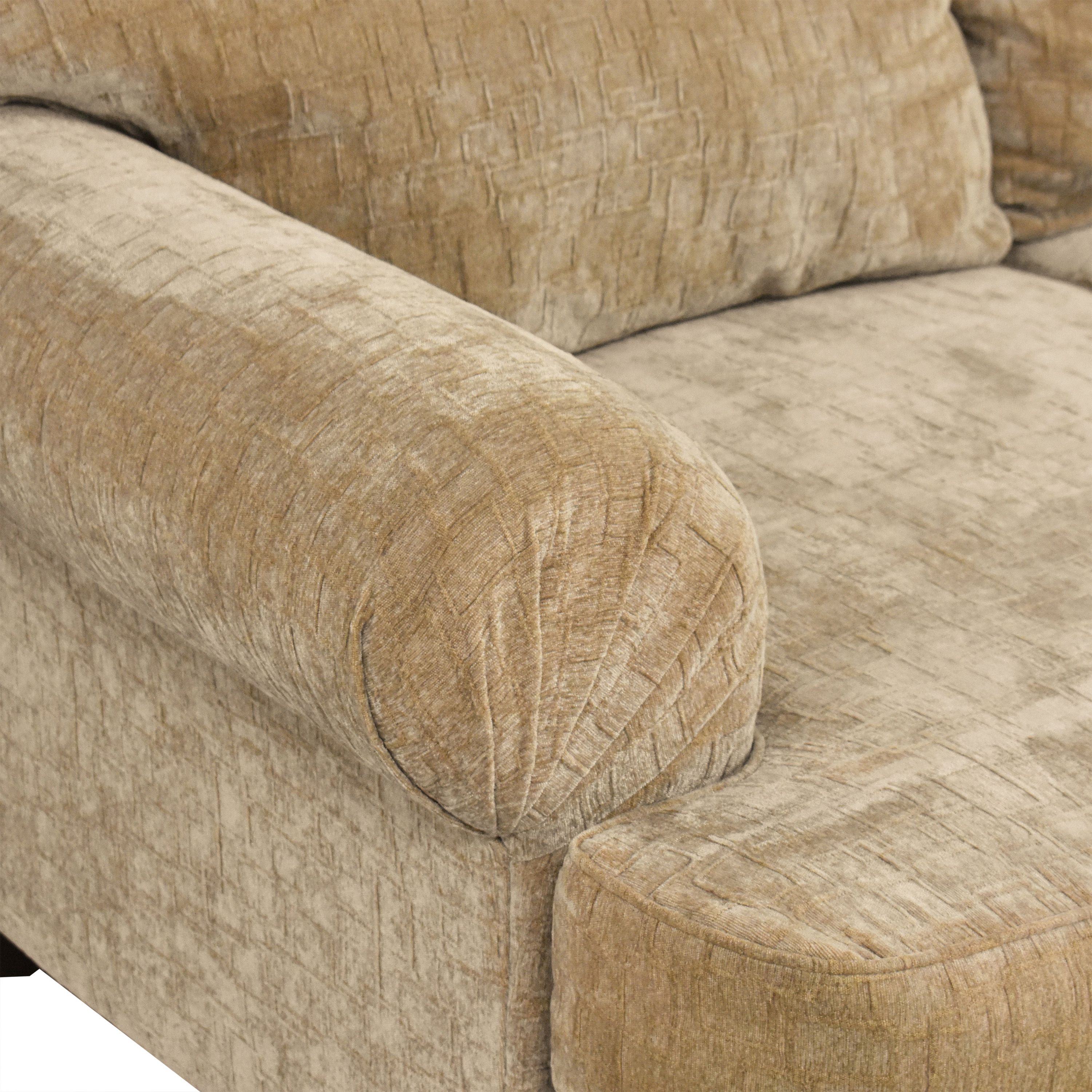 shop Klaussner Two Cushion Sofa Klaussner Classic Sofas