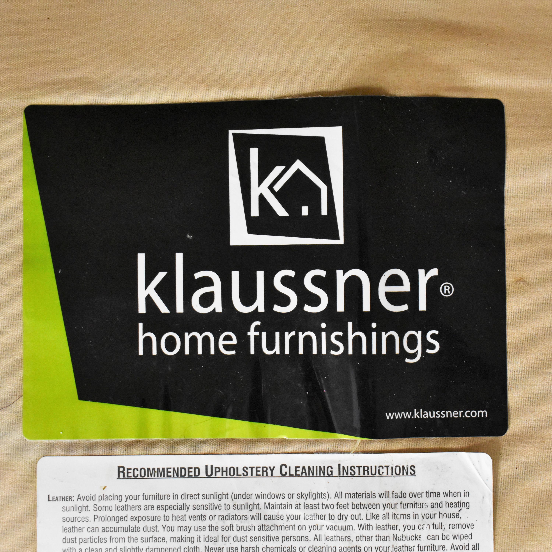 Klaussner Klaussner Two Cushion Sofa pa