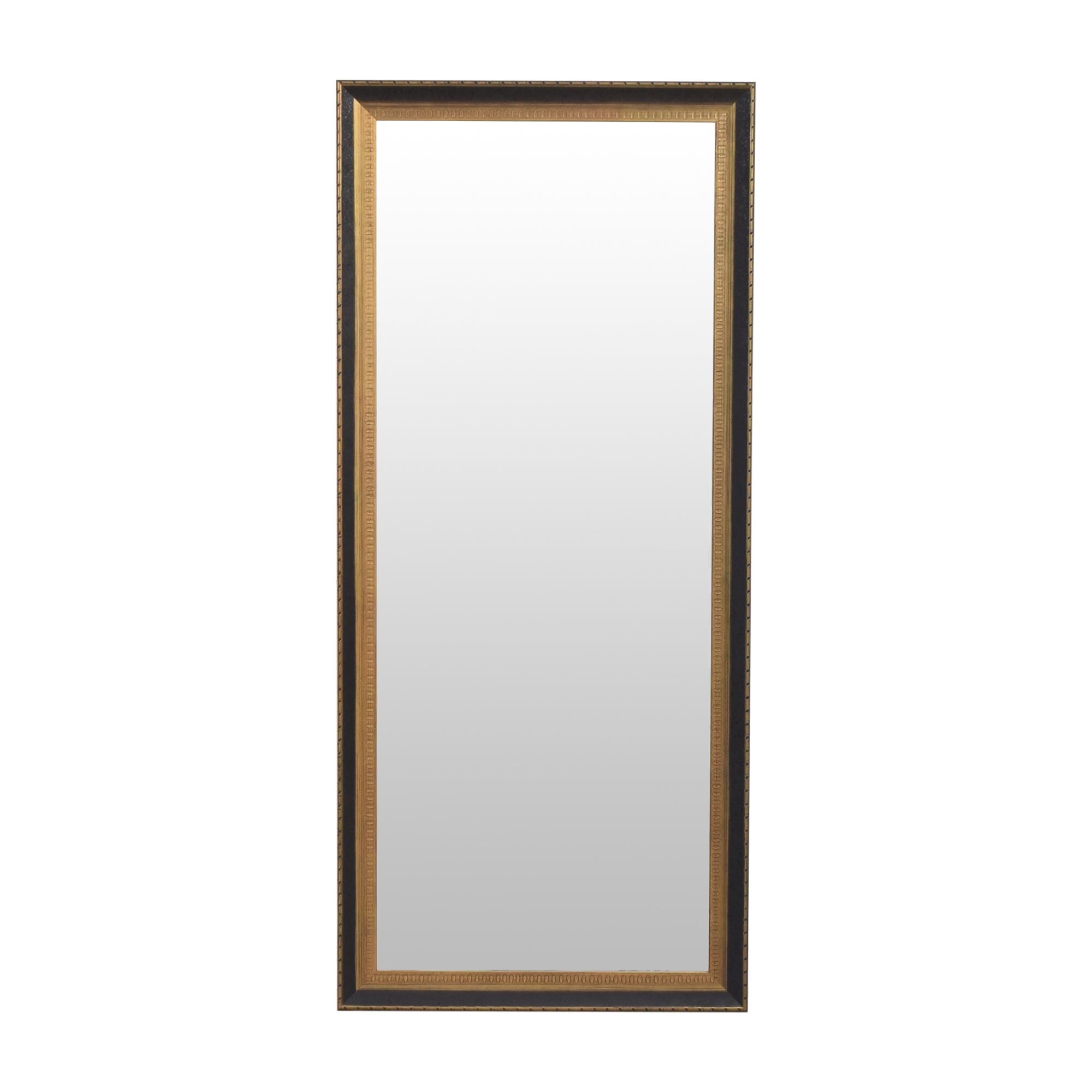 Framed Tall Mirror second hand