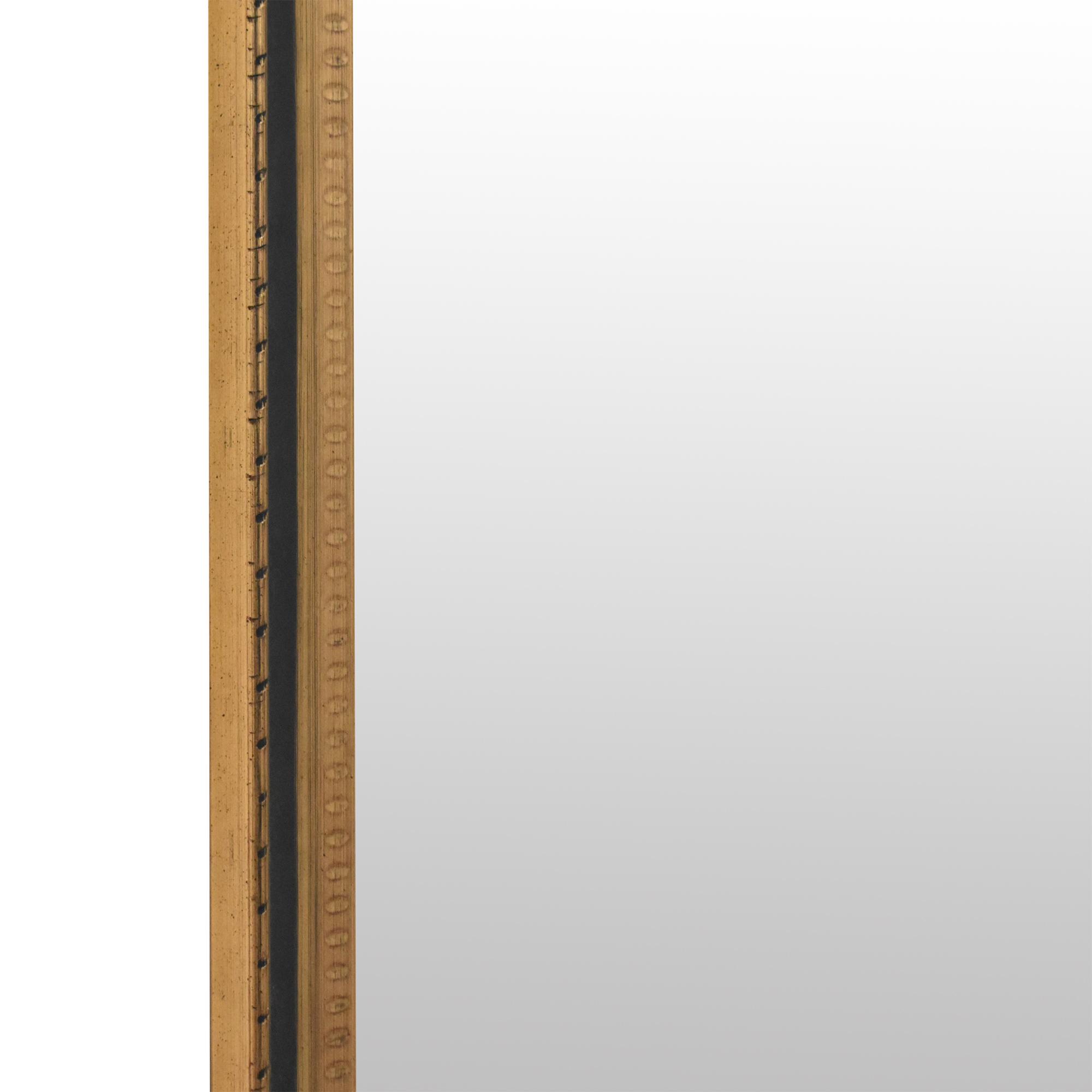 Framed Tall Mirror / Decor