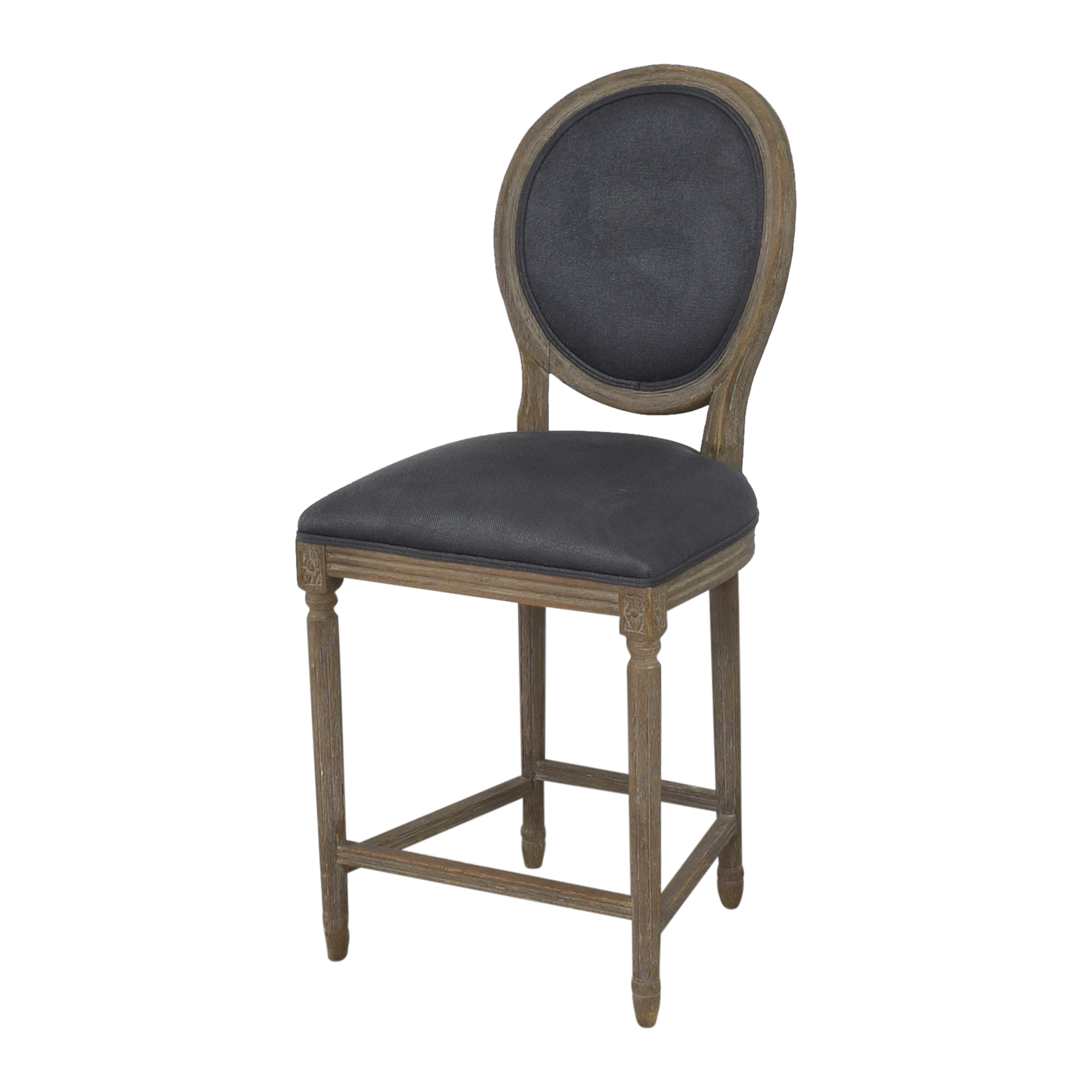 Restoration Hardware Restoration Hardware Vintage French Round Counter Stools nj