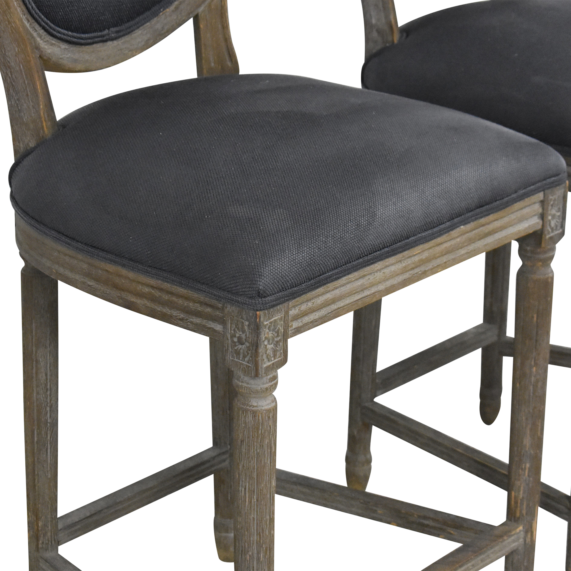 Restoration Hardware Restoration Hardware Vintage French Round Counter Stools price