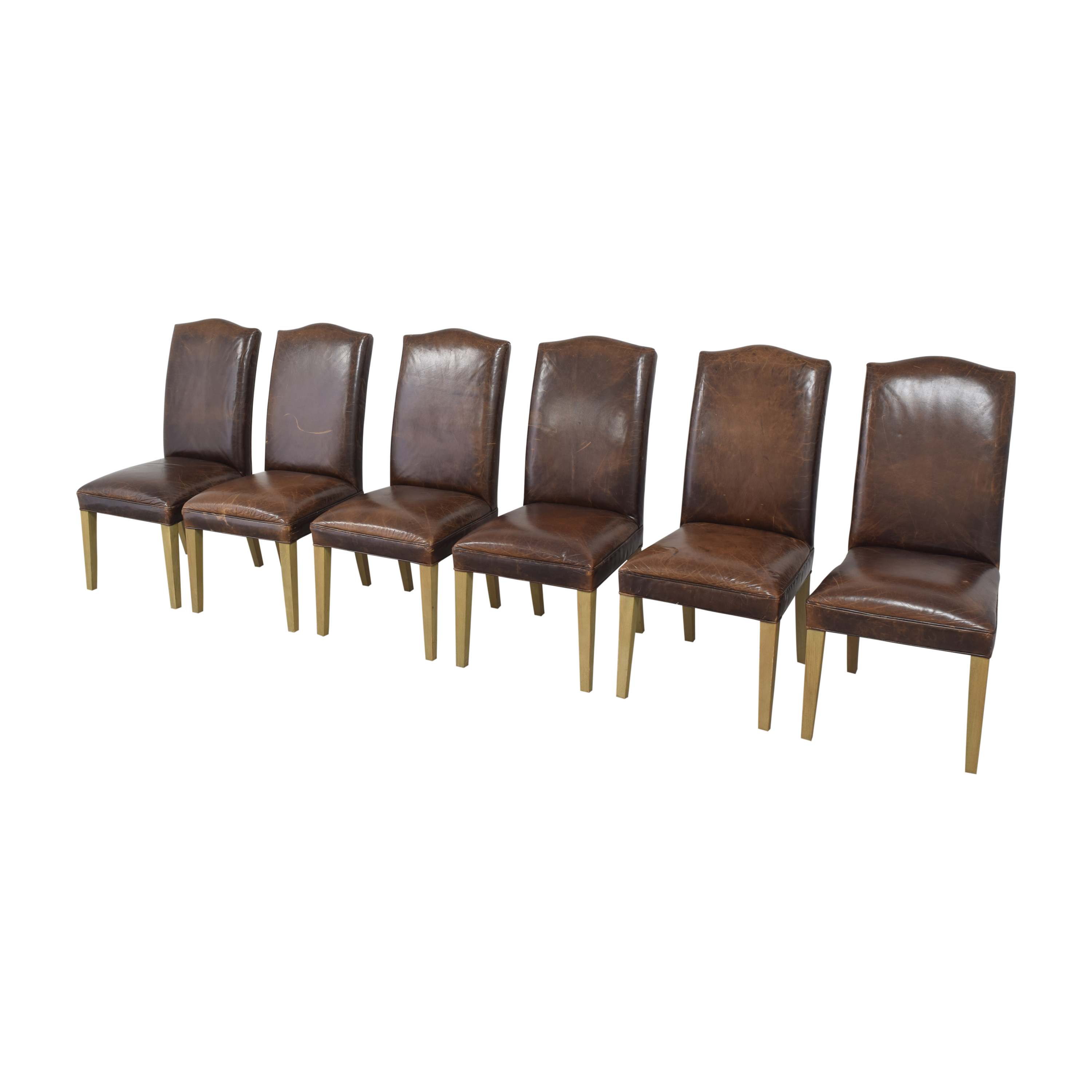 Restoration Hardware Restoration Hardware Hudson Camelback Side Chairs ma