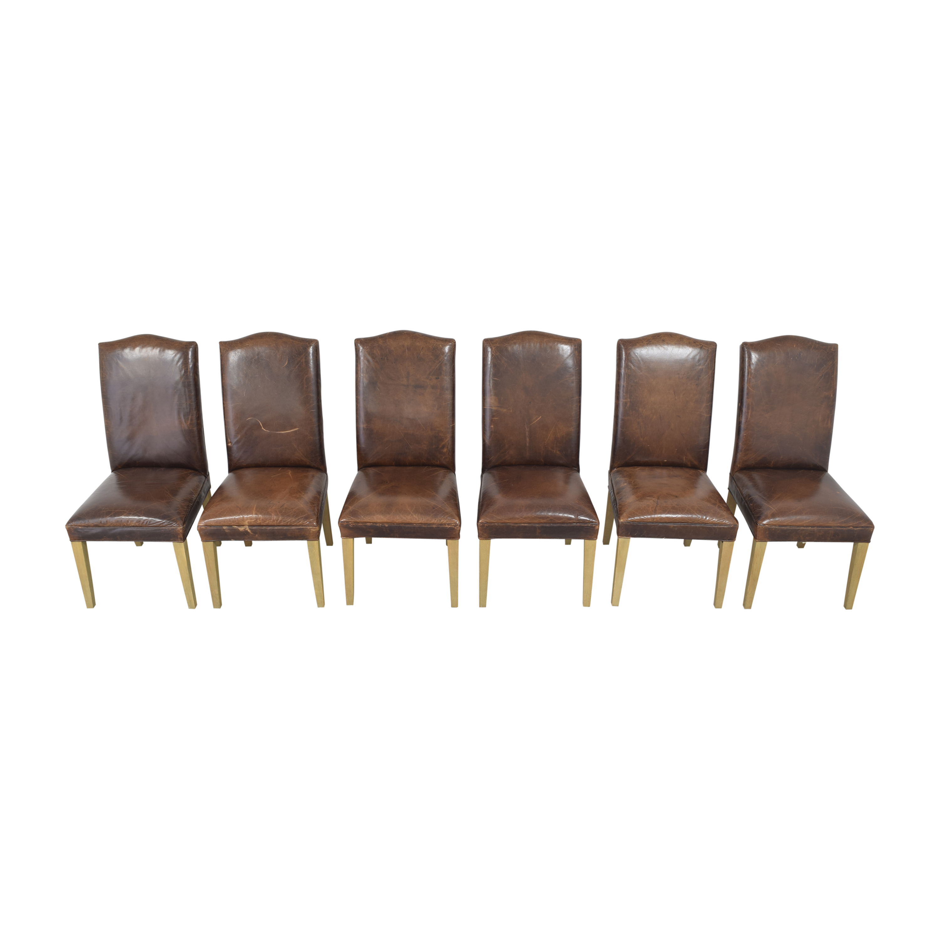 Restoration Hardware Restoration Hardware Hudson Camelback Side Chairs on sale